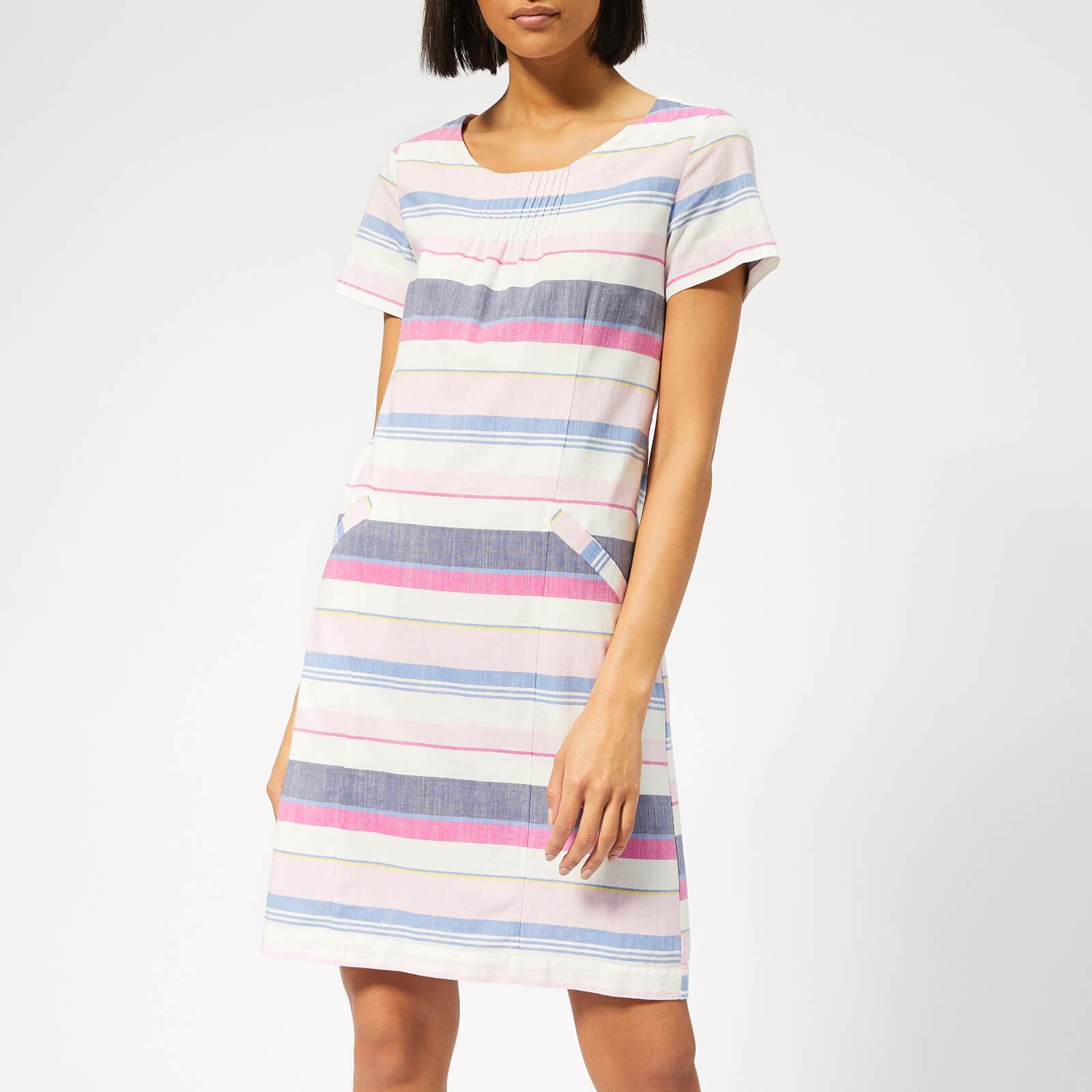 7d01b03c09 Joules Henrietta Linen Shift Dress in Blue - Lyst