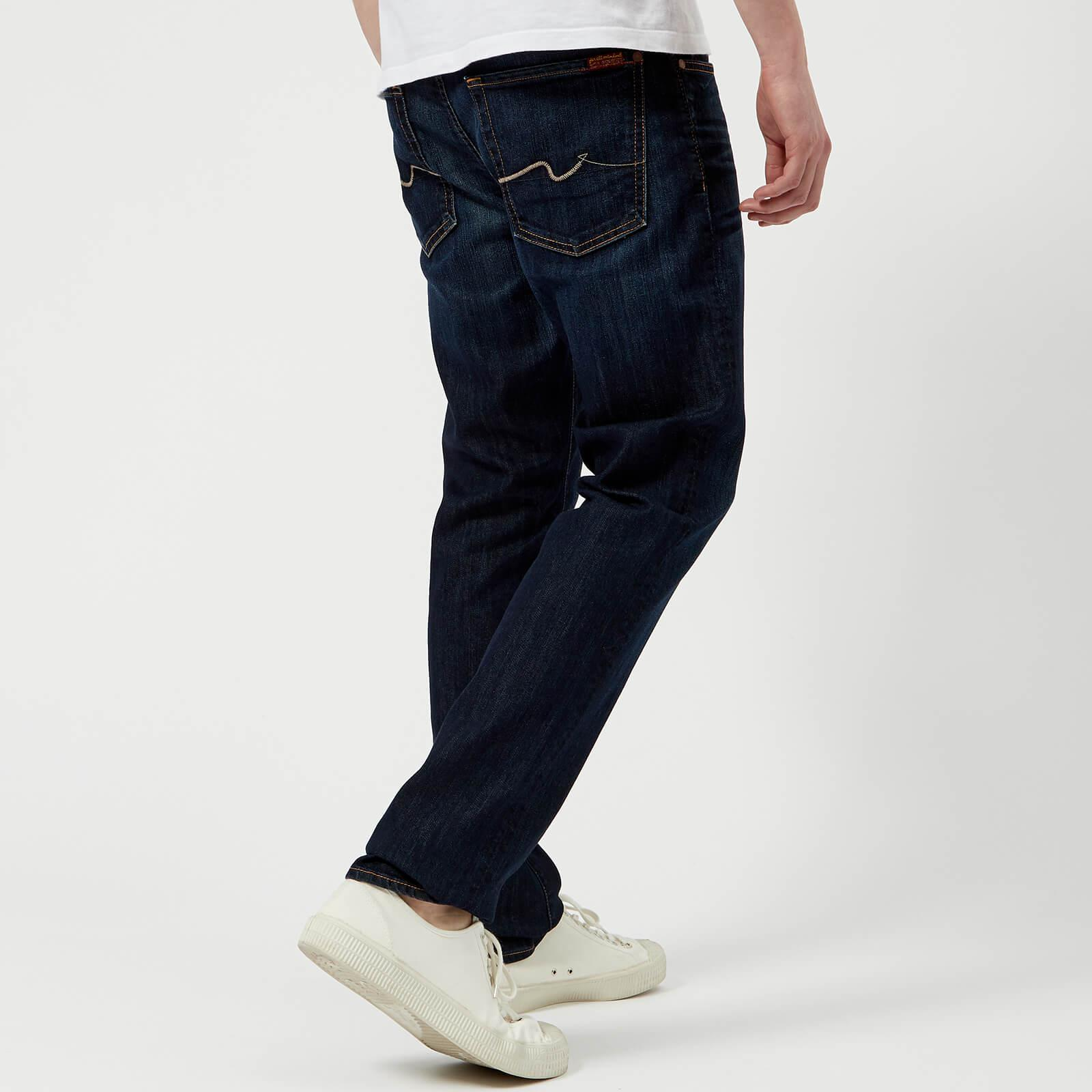 7 For All Mankind Slimmy Airweft Denim Jeans in Blue for Men