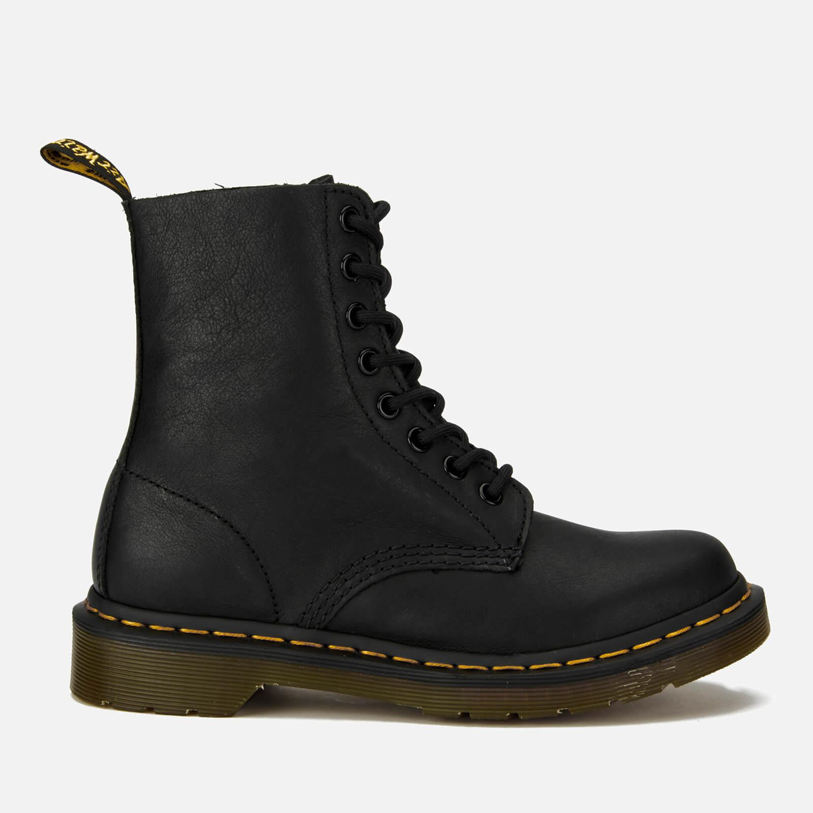 Dr. Martens 1460 PASCAL 8 EYE BOOT - Lace-up boots - dark brown virginia QKh6SpHmc