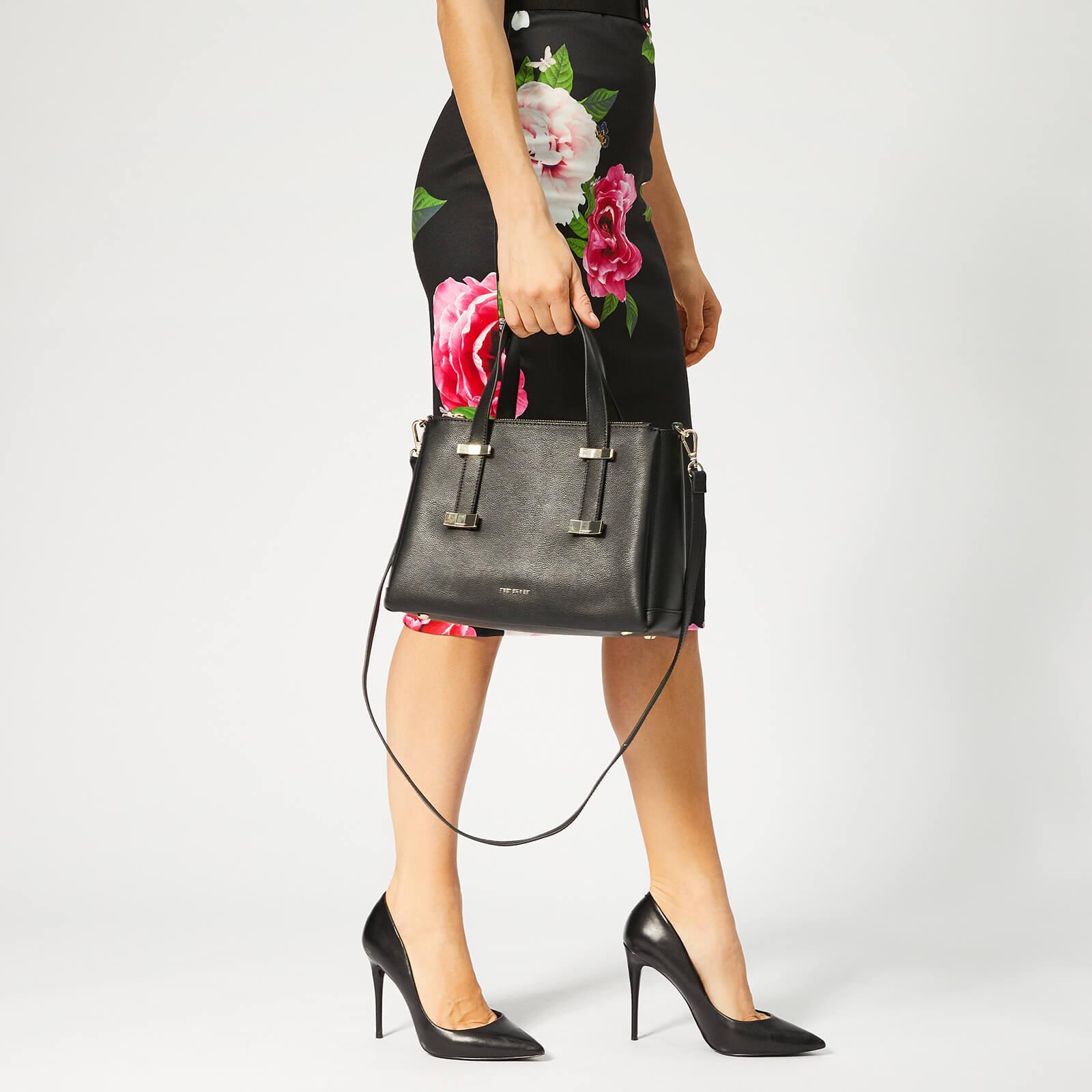 caac0e468b9 Women's Black Julieet Bow Adjustable Handle Small Tote Bag