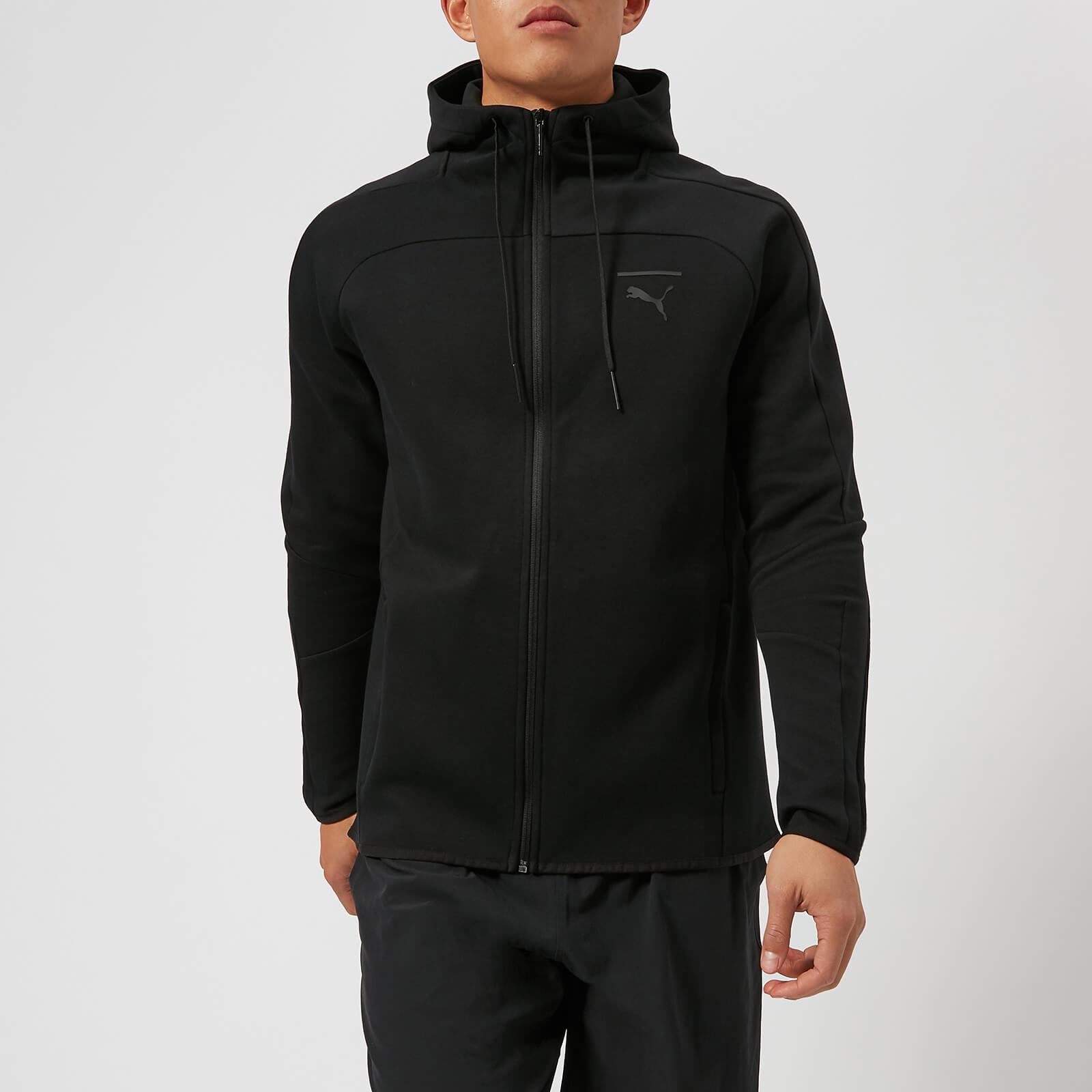 e75e11e42b PUMA Pace Primary Full Zip Hoody in Black for Men - Lyst