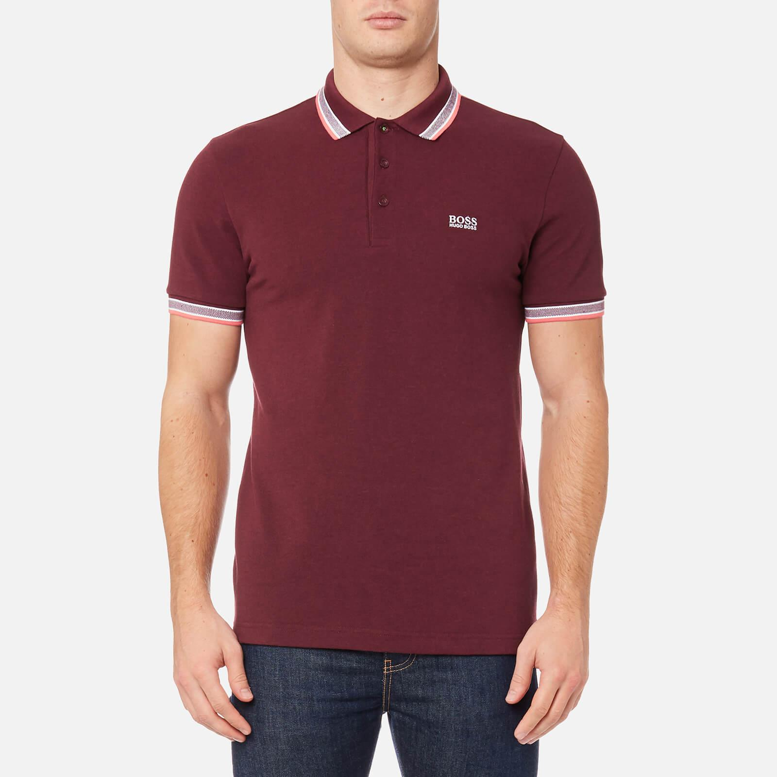 lyst boss green paddy polo shirt in red for men. Black Bedroom Furniture Sets. Home Design Ideas