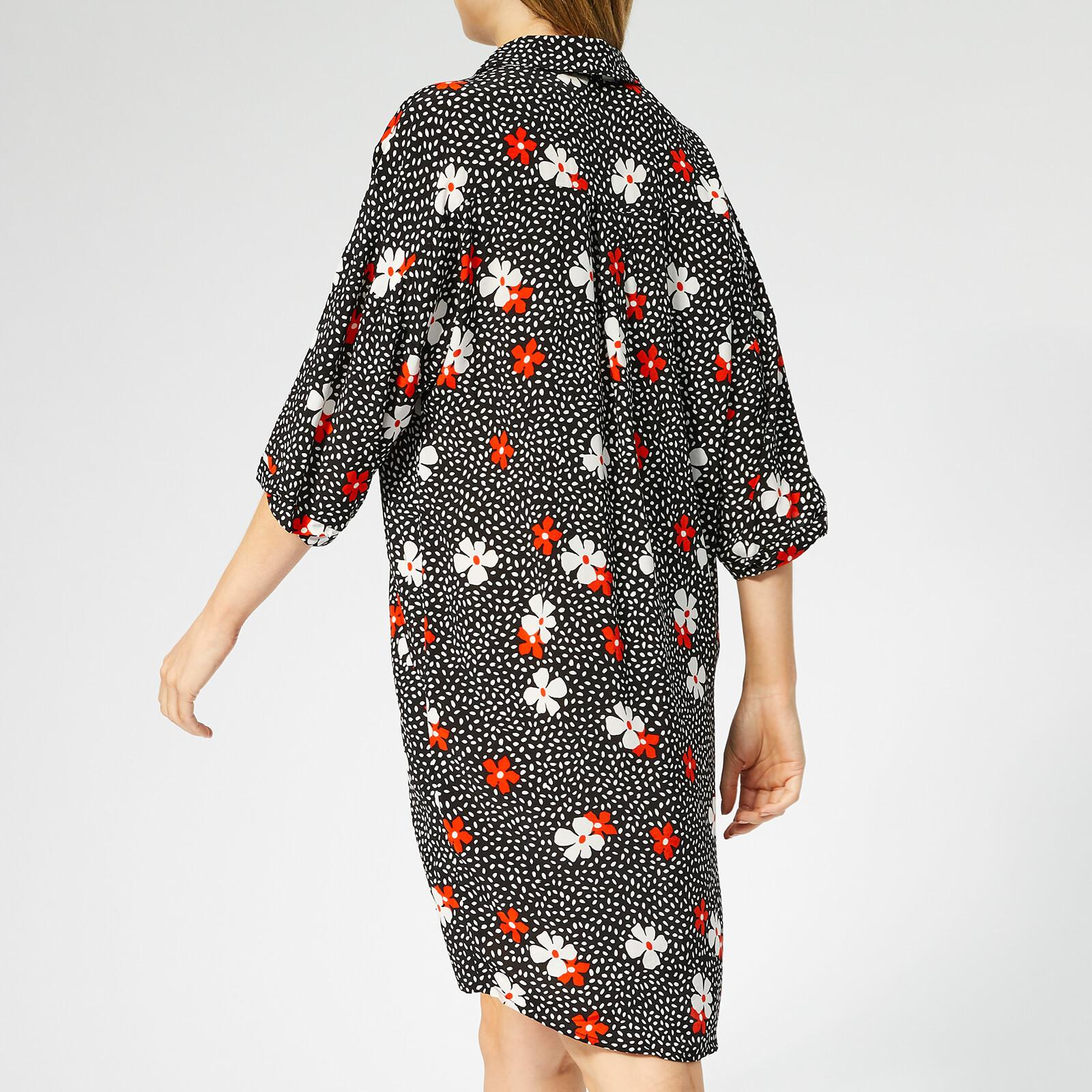 Whistles - Black Lola Confetti Floral Print Dress - Lyst. View fullscreen 616580f2a