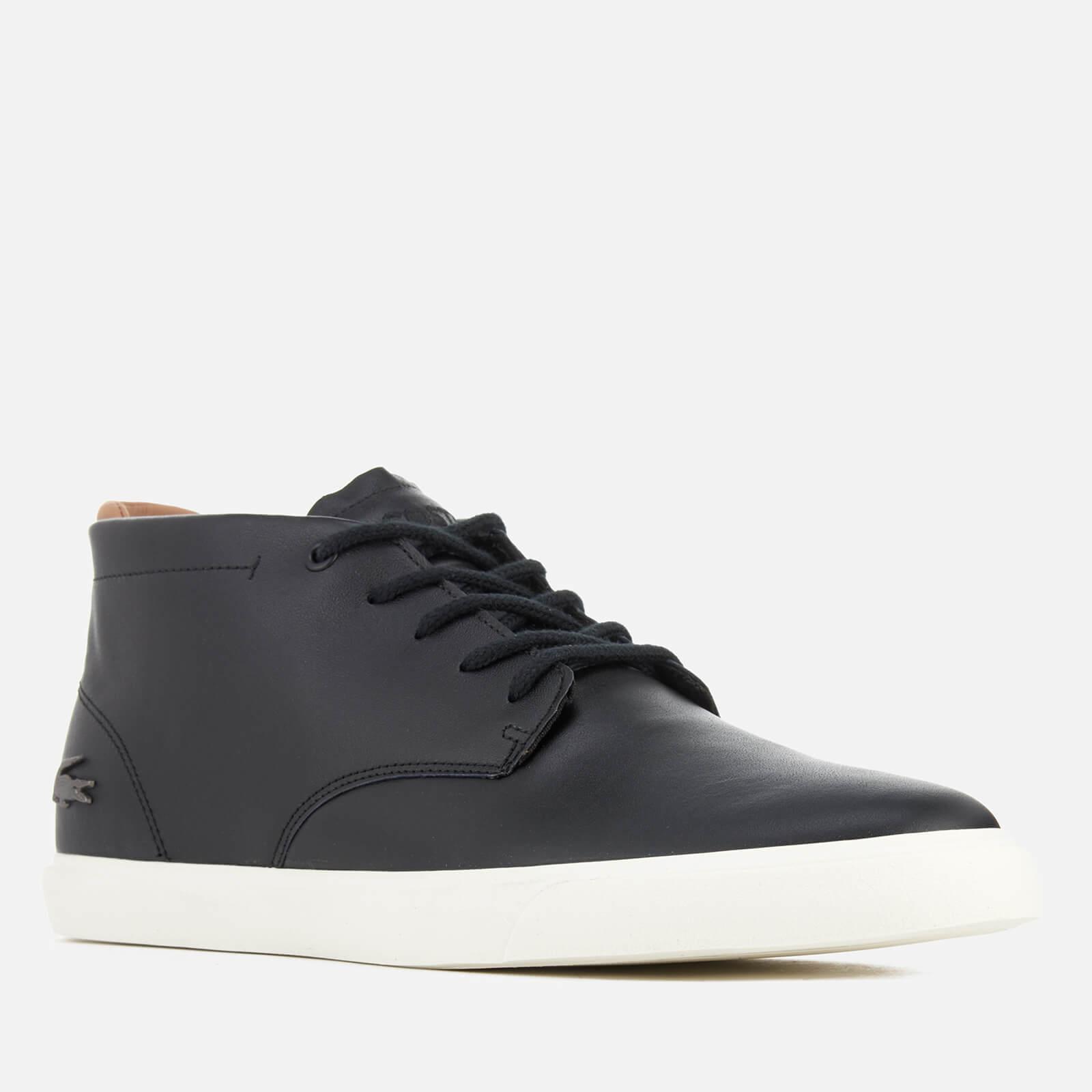 873f00b4e Lacoste Espere Chukka 317 1 Boots in Black for Men - Lyst