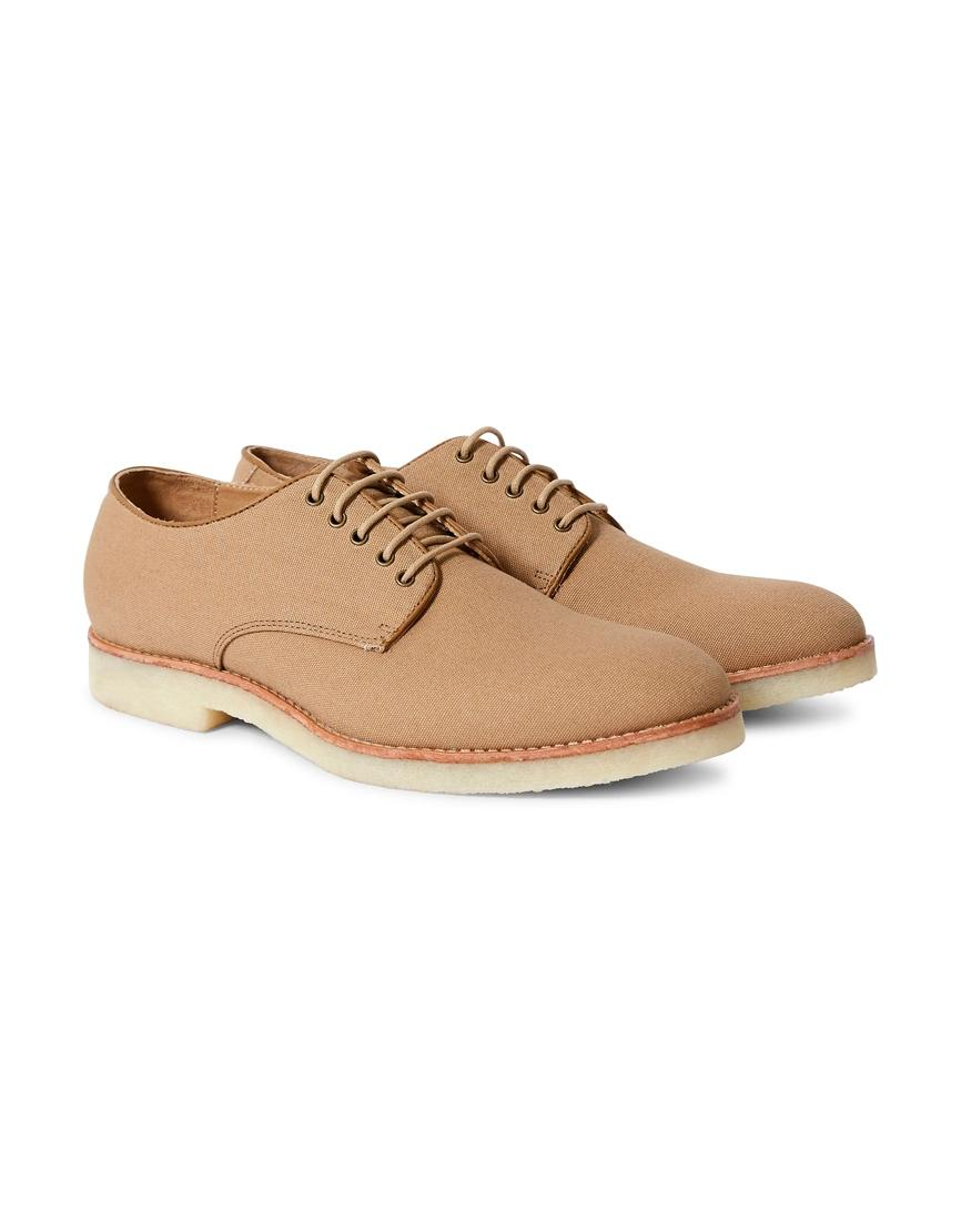 Hudson Basford Canvas Lace in Up Schuhes Sand in Lace Natural for Men Lyst 7020b6