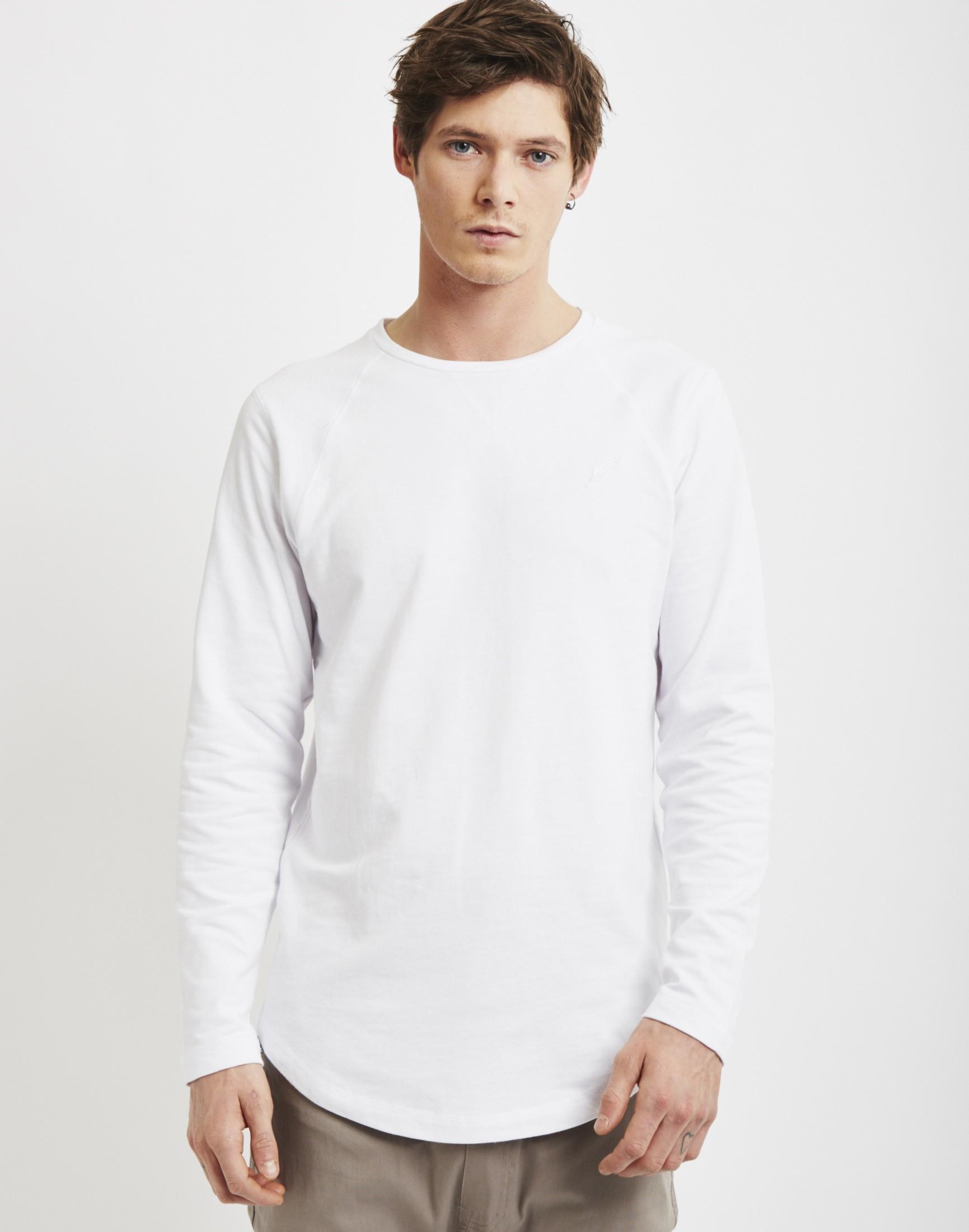 Publish Augusta T-shirt White In White For Men