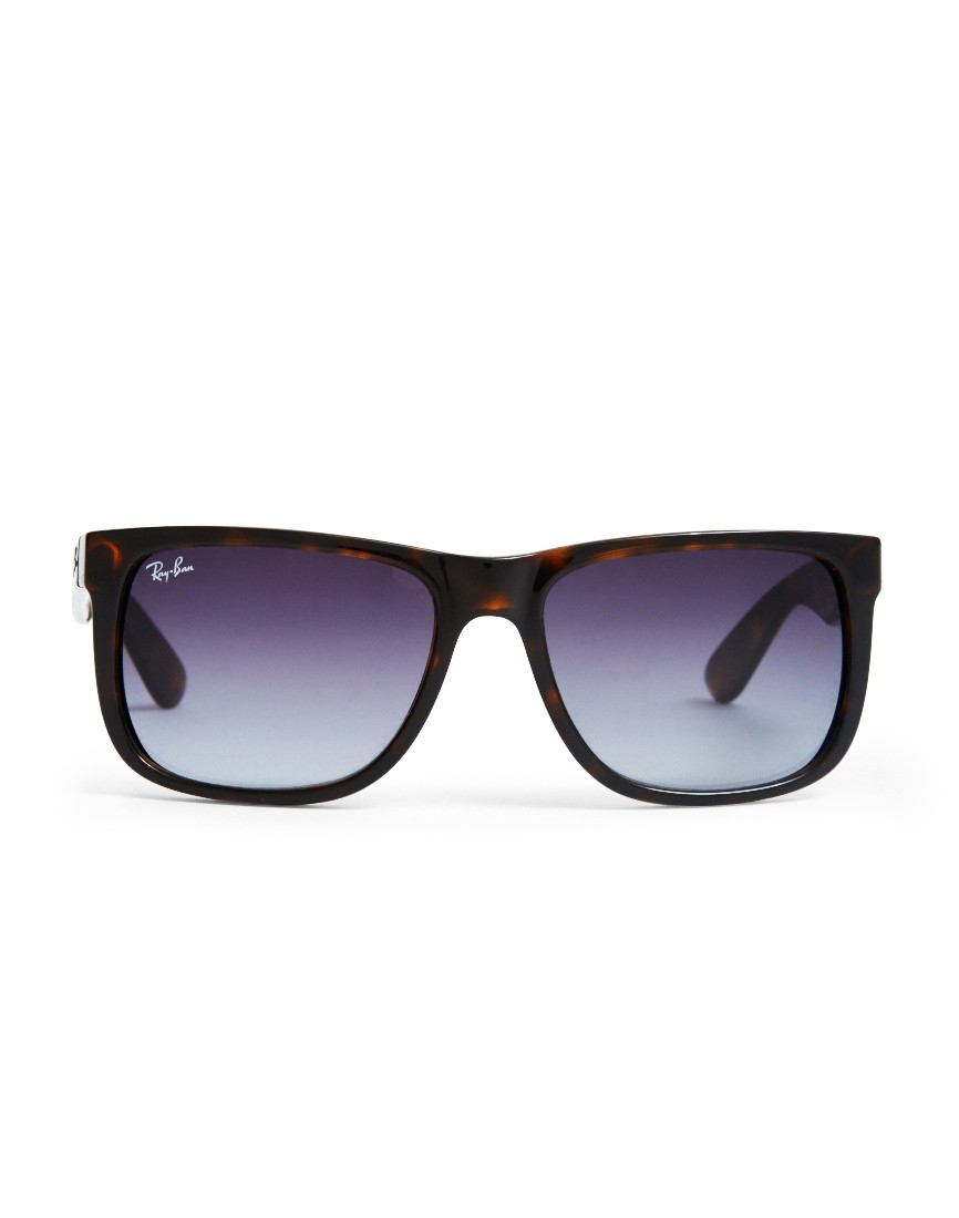 64f22b40aa Ray-Ban Justin Sunglasses Large Rb4165 710 8g Tortoise Shell in ...