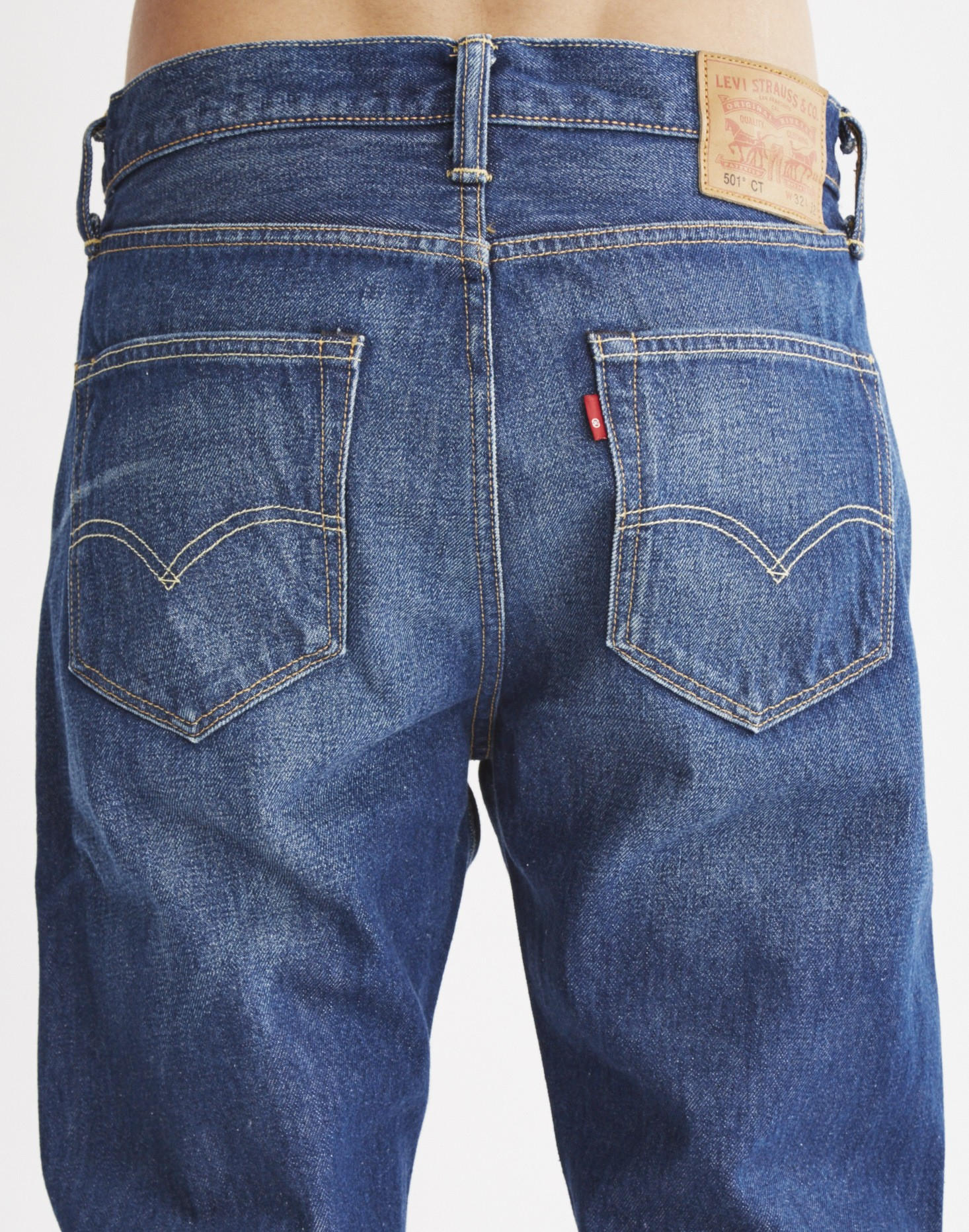 730370f0 Lyst - Levi's 501 Customized And Tapered Dalston Jean in Blue for Men