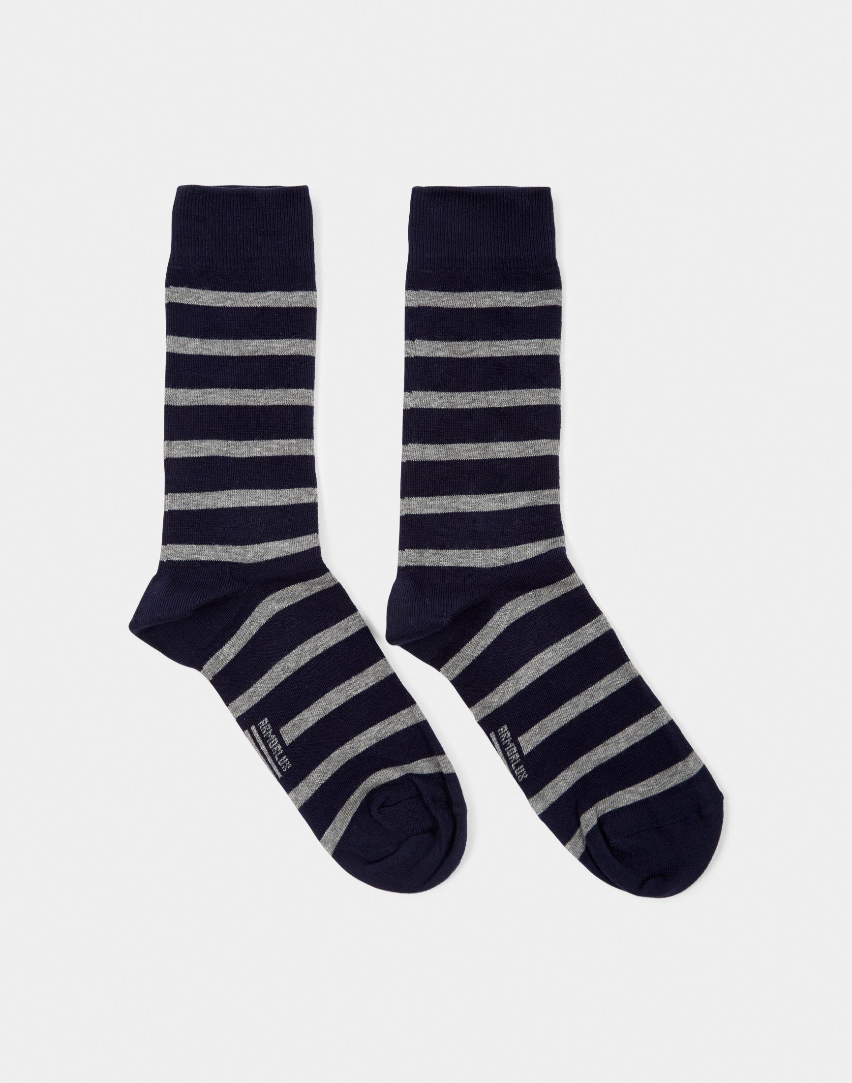 Armor Lux Chaussettes Homme Socks Black   Grey - Black in Black for ... 222b87460c2