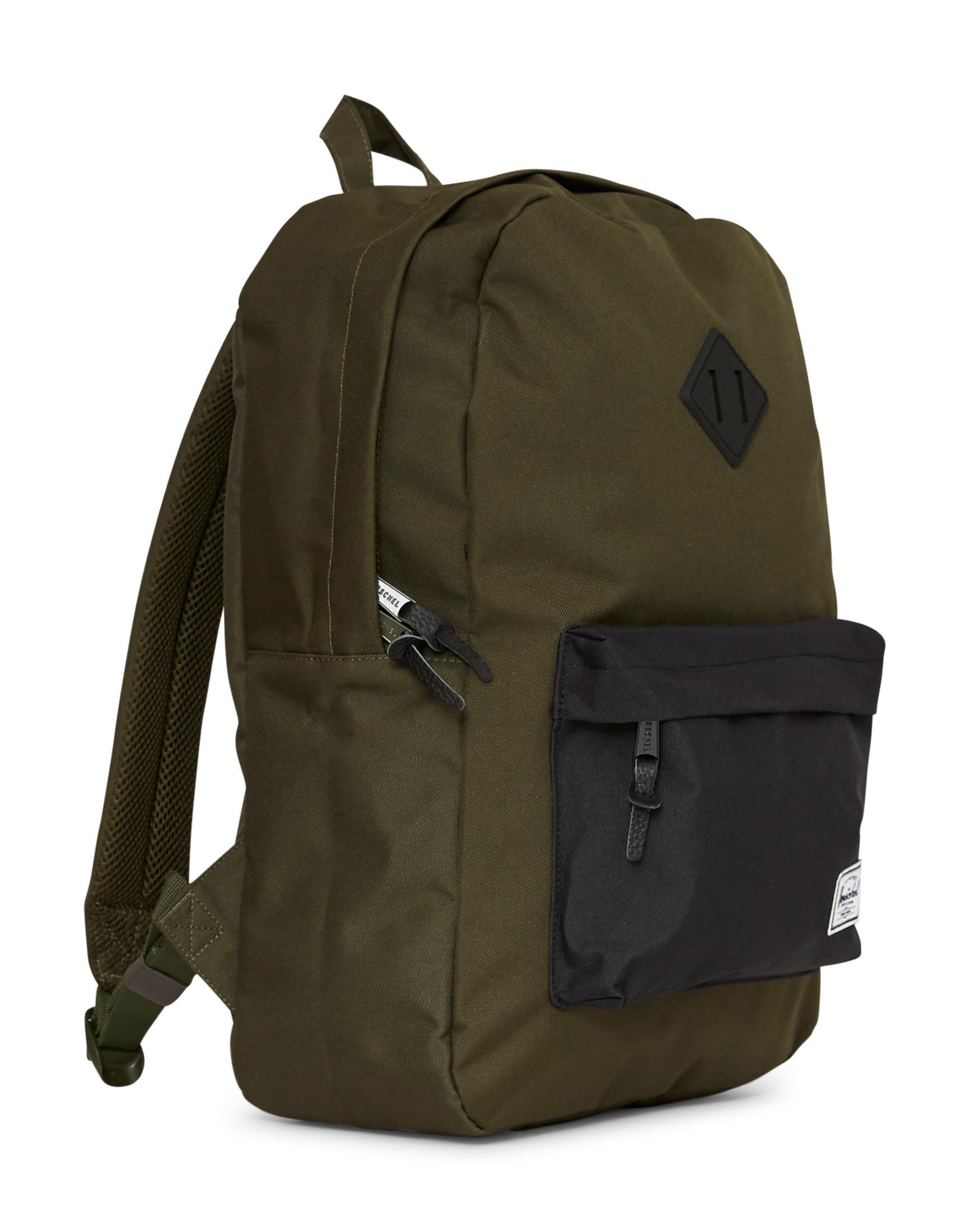 a8fe8ccf86 Herschel Supply Co. Heritage Duffle Bag Green   Navy in Blue for Men ...