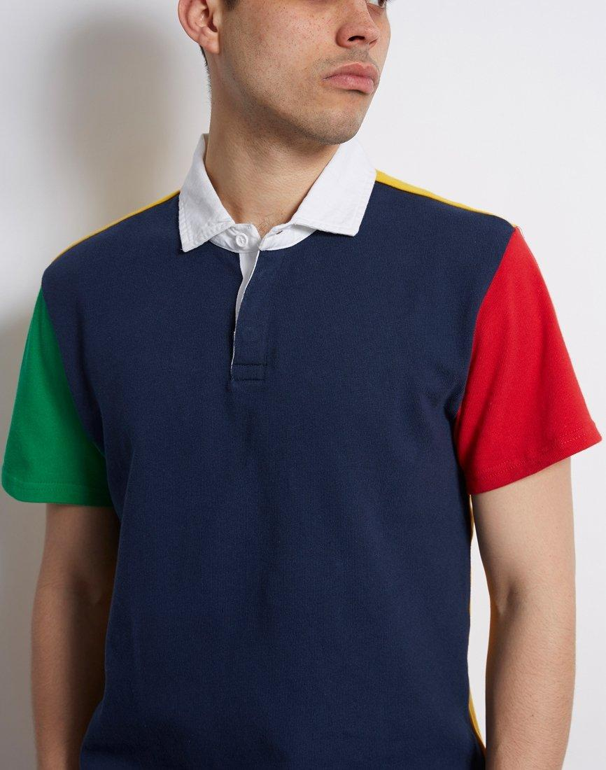 a824213f0e24 Levi's Mighty Made Rugby Polo Navy in Blue for Men - Lyst
