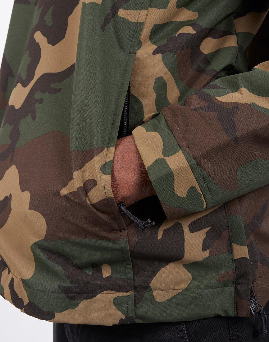 49921bbcb6b Lyst - Carhartt WIP Nimbus Pullover Jacket Camo Laurel in Green for Men -  Save 7%