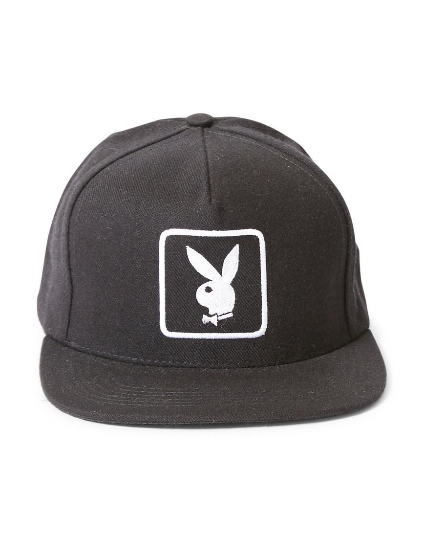 c907943d ... promo code supreme x playboy 2011 snapback cap black in black for men  lyst f3845 ea91a