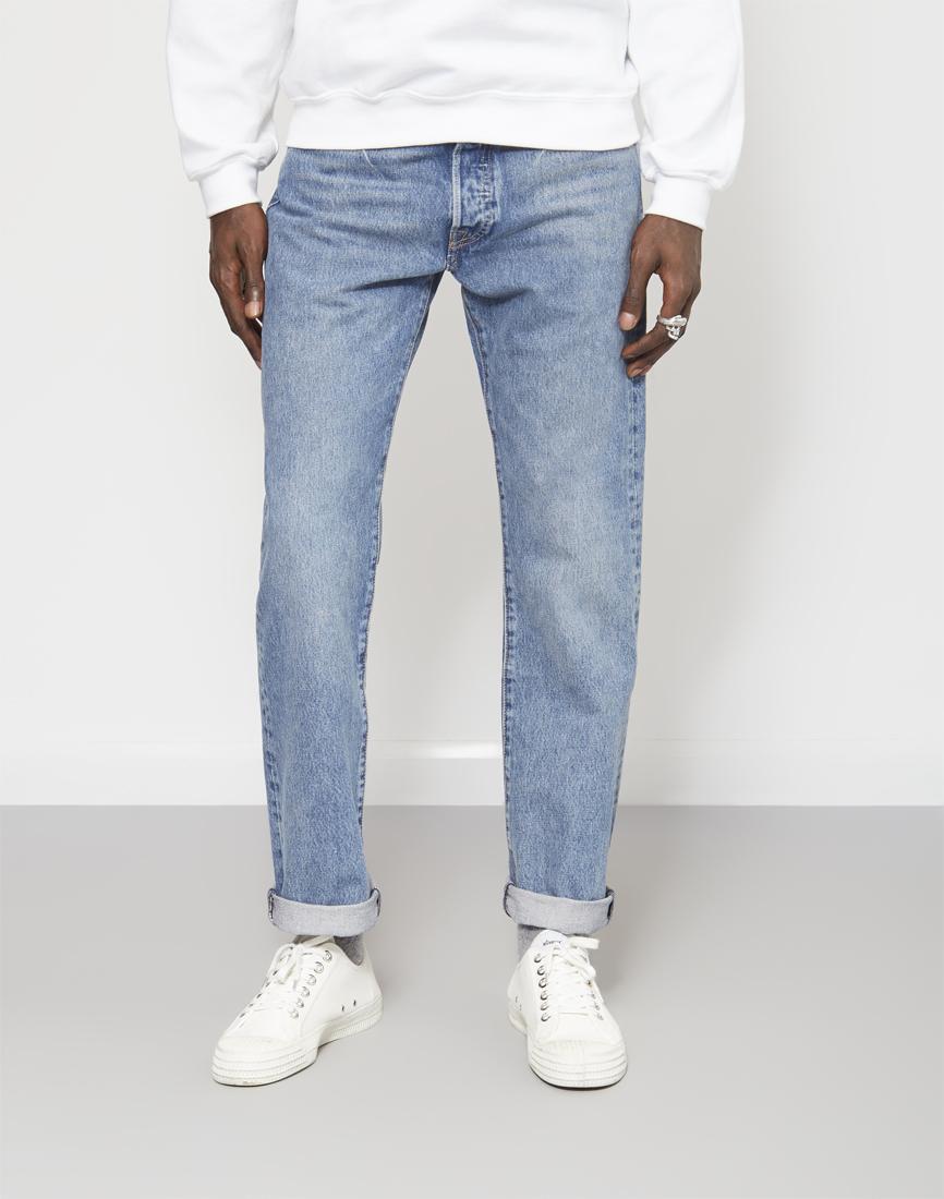 lyst levi 39 s 501 original fit crosby jean blue in blue for men. Black Bedroom Furniture Sets. Home Design Ideas