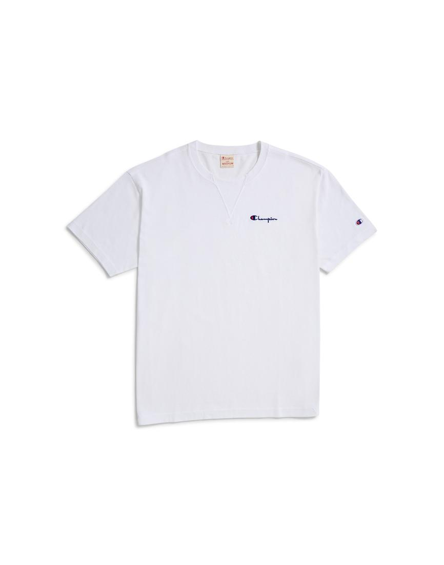 c93f88b4a32a Lyst - Champion Deconstruction Short Sleeve T-shirt White in White ...