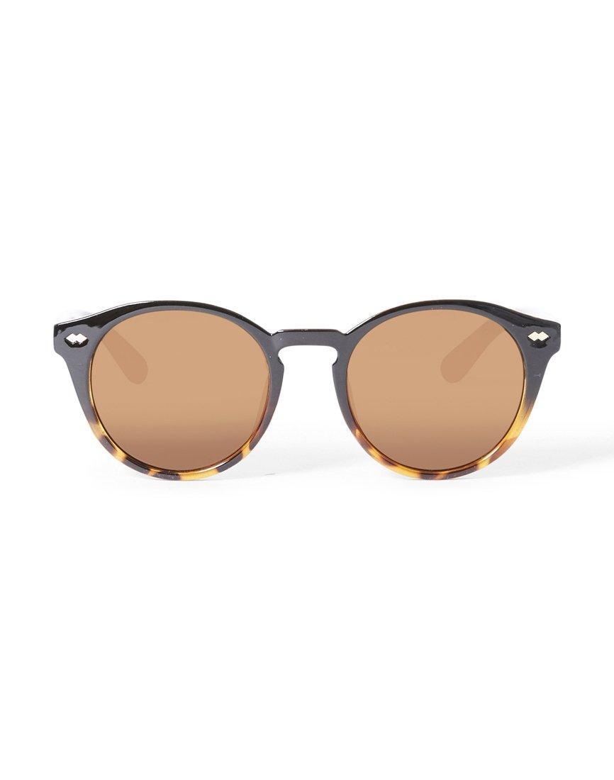 3477039dfa0 The Idle Man Round Lens Tortoise Shell Keyhole Sunglasses for Men - Lyst