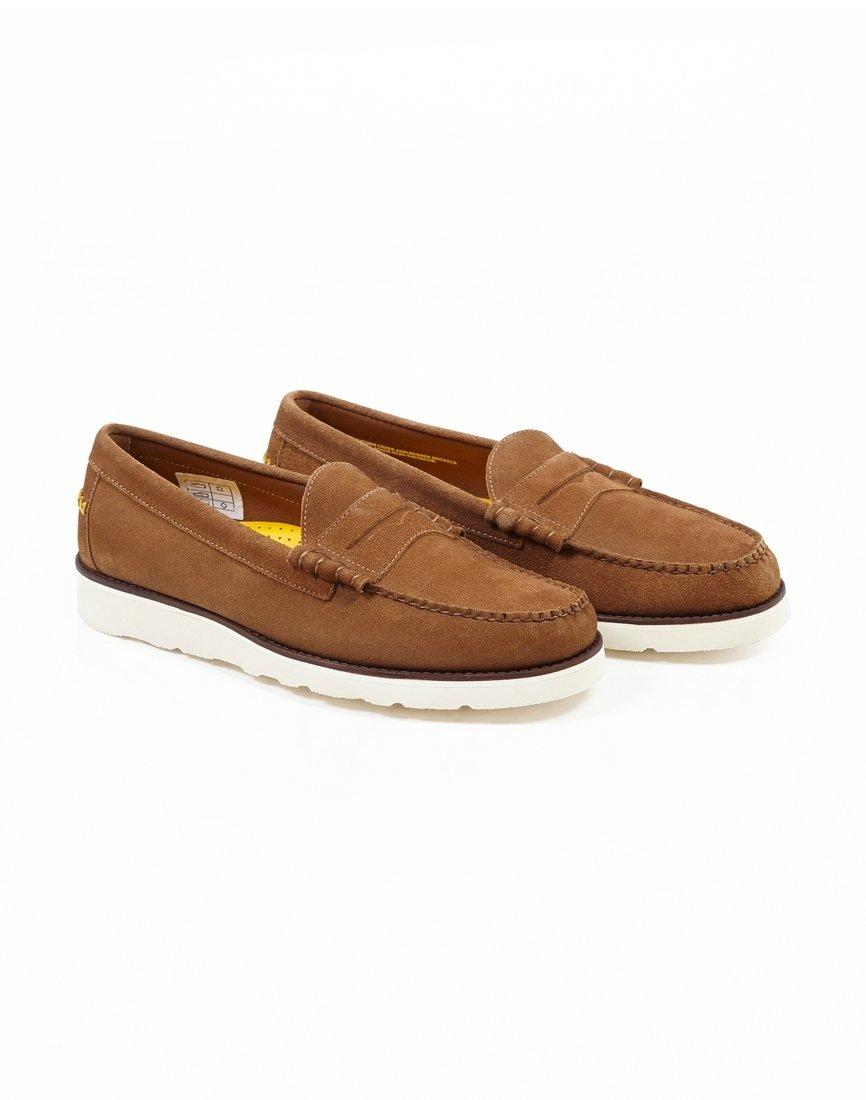 95bd3ebec34 G.H.BASS G.h. Bass Co. Weejun Wedge Larson Reverso Universal Works Loafer  Brown in Brown for Men - Lyst