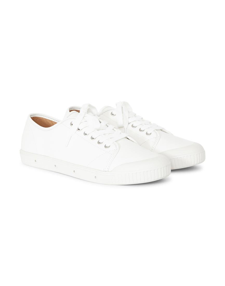 6be66aae3416 Lyst - Spring Court G2 Nappa Plimsolls White in White for Men