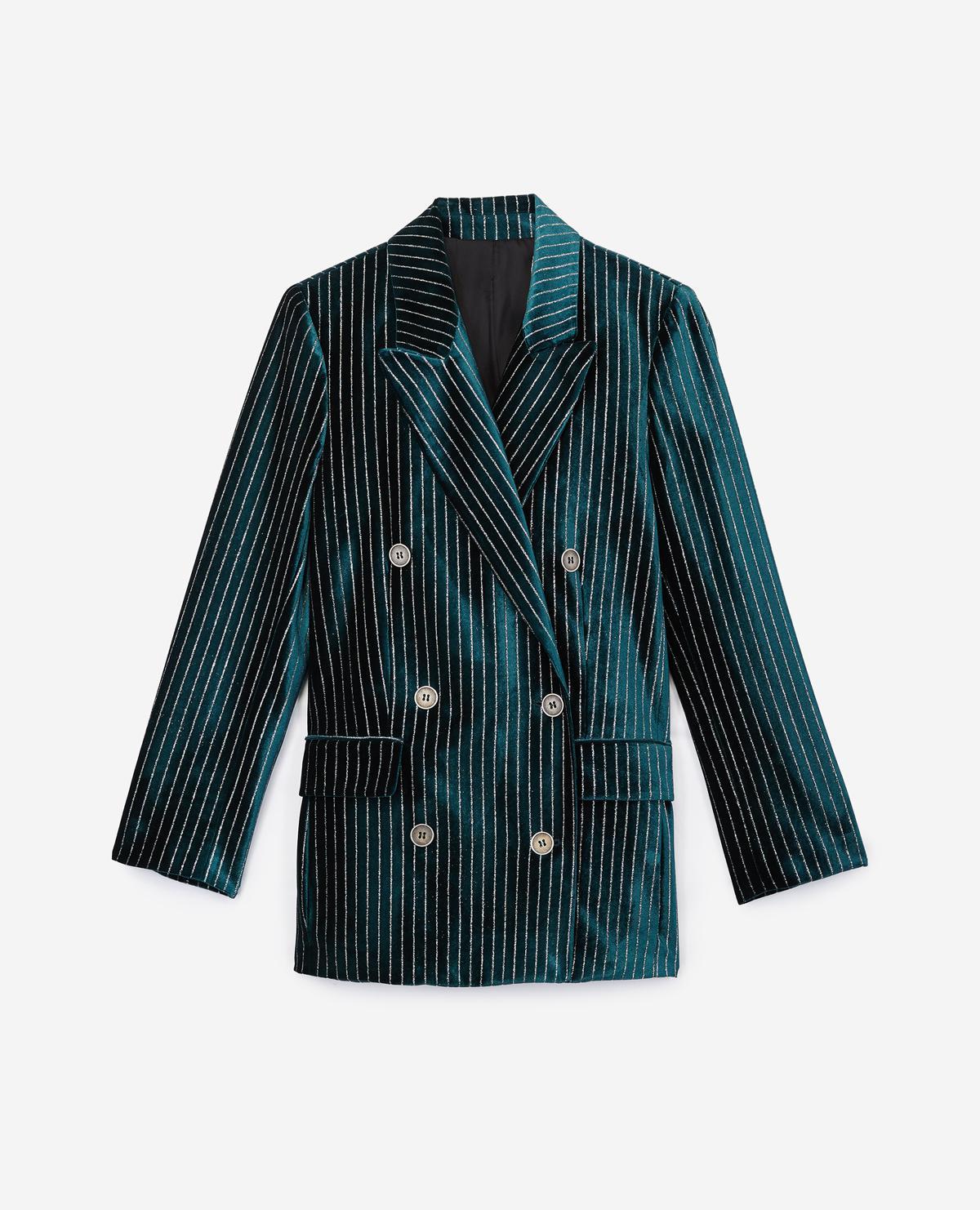 The Kooples Green Velvet Blazer Lyst