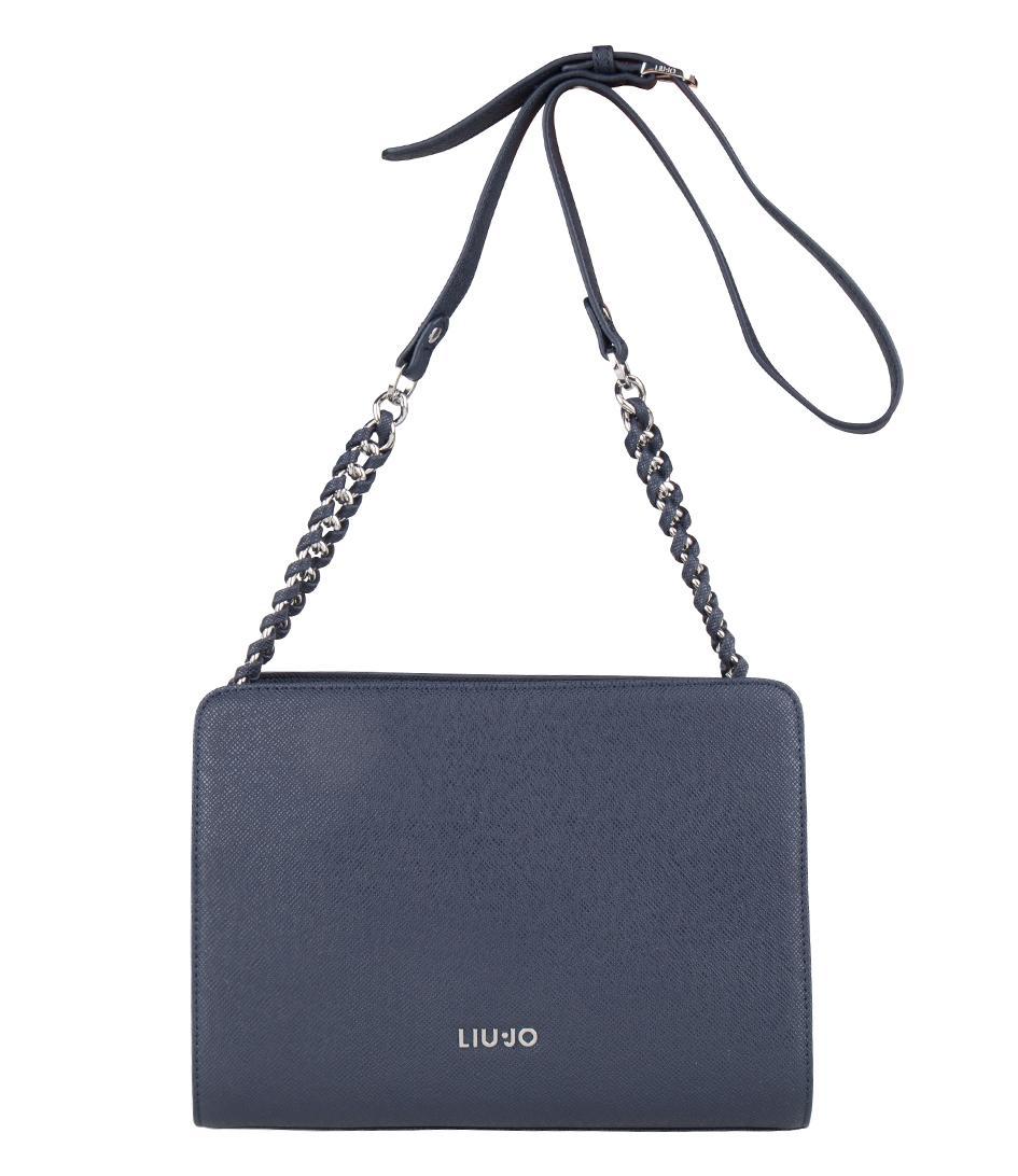 Lyst - Liu Jo Tracolla Small Anna Chain in Blue 7546cf9d35b