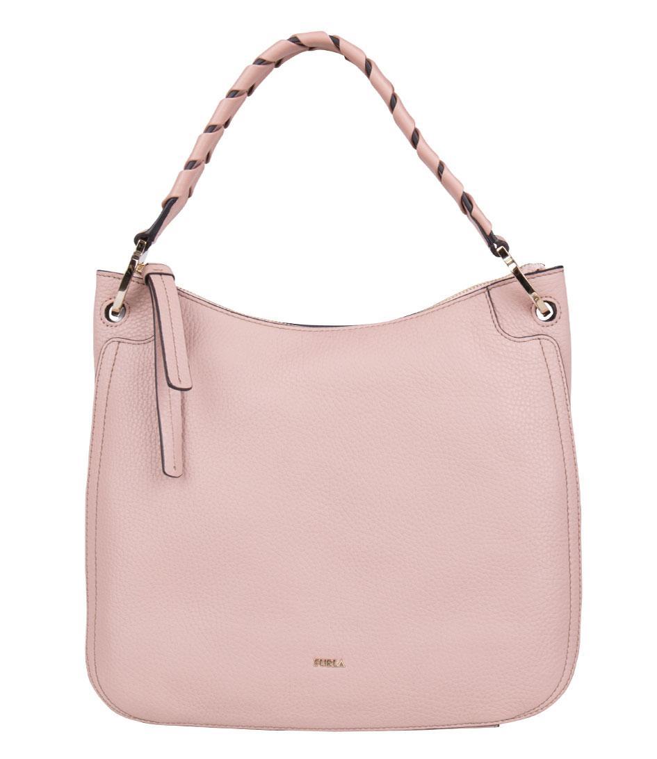 0395c4f8691 Furla Rialto Medium Hobo in Pink - Lyst