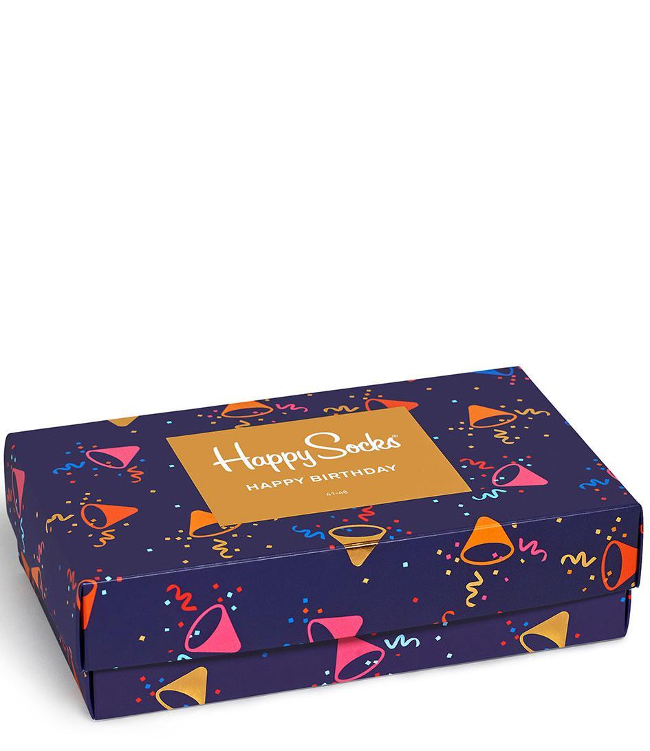 Happy Socks Cotton Birthday Gift Box In Blue For Men Lyst