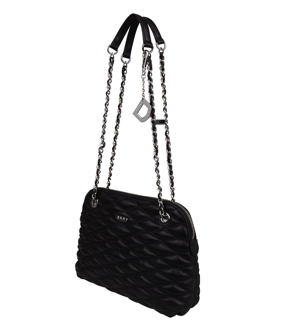 4037ac740e DKNY - Black Lara Medium Crossbody - Lyst. View fullscreen