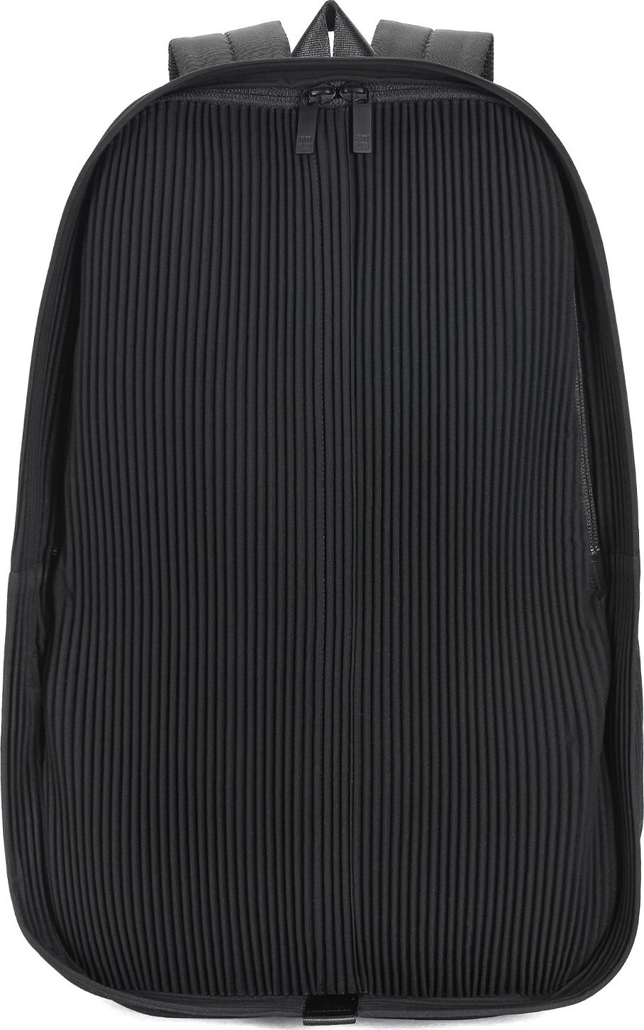 ribbed backpack - Black Homme Plissé Issey Miyake Cheap Sale Genuine Professional Cheap Online Largest Supplier For Sale Buy Cheap Sale Sale View eZpaI1