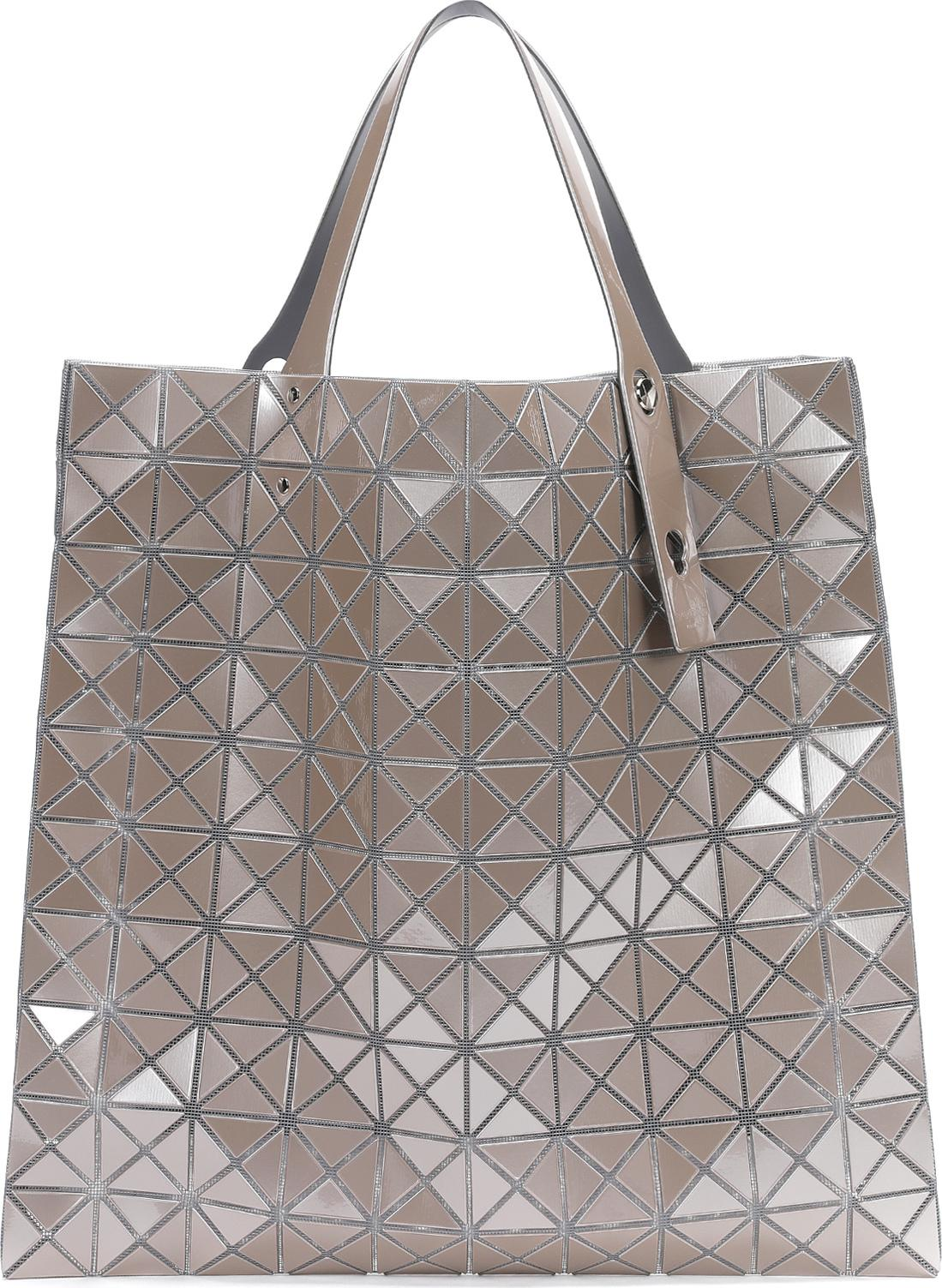 d9f1e9d22c81d Lyst Bao Bao Issey Miyake Prism Metallic Tote in Natural