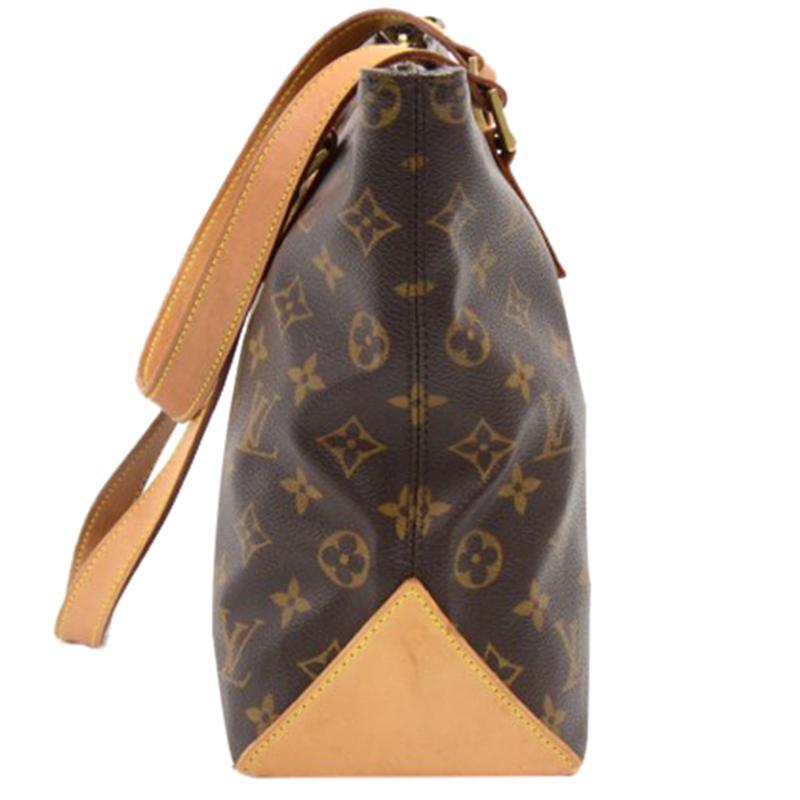 8c329c0f6870 Louis Vuitton - Brown Monogram Canvas Cabas Piano Bag - Lyst. View  fullscreen