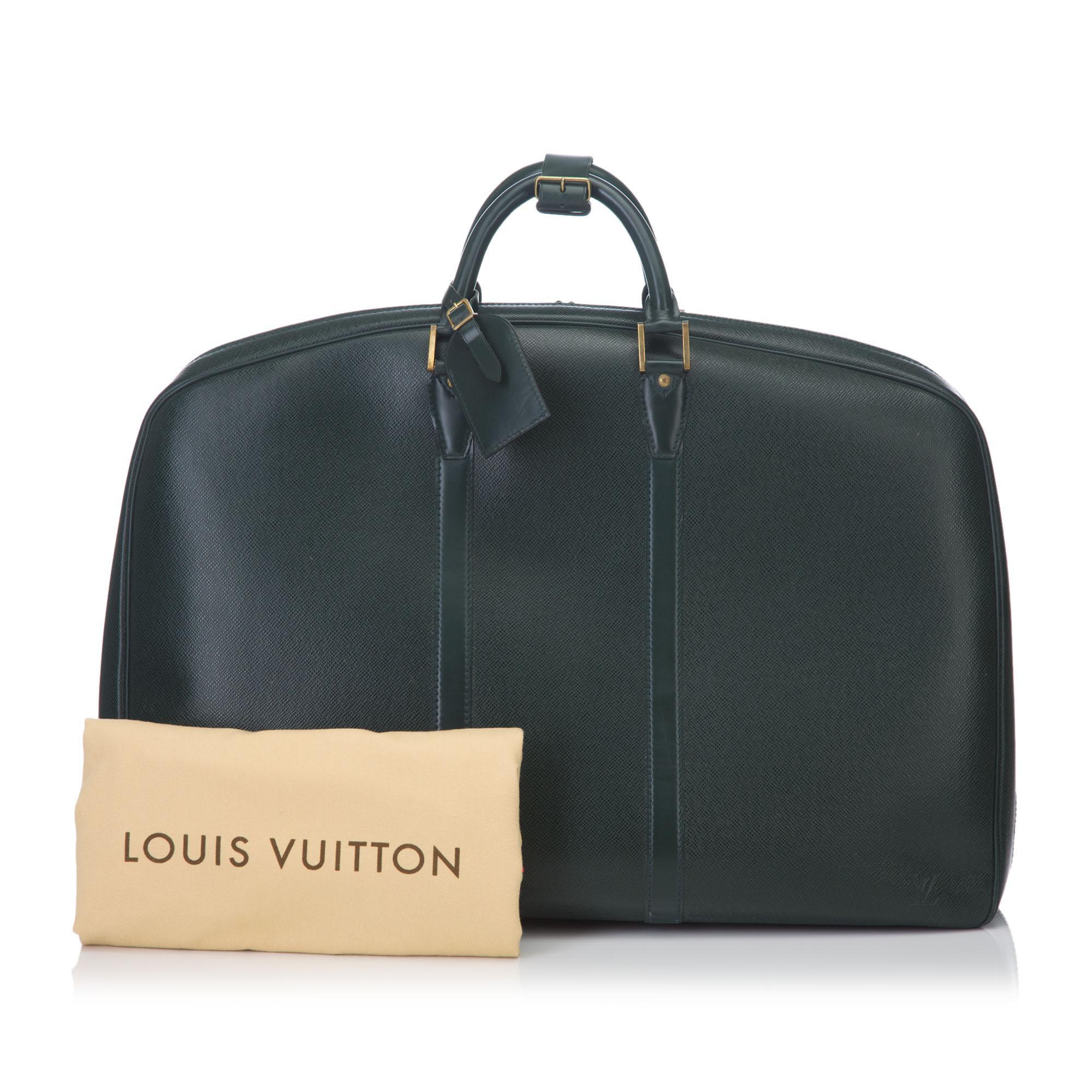 4ef0e0464 Louis Vuitton Epicea Taiga Leather Kendall Gm Bag in Black for Men ...