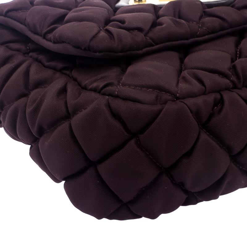 Moschino Synthetic Dark Nylon Crossbody Bag