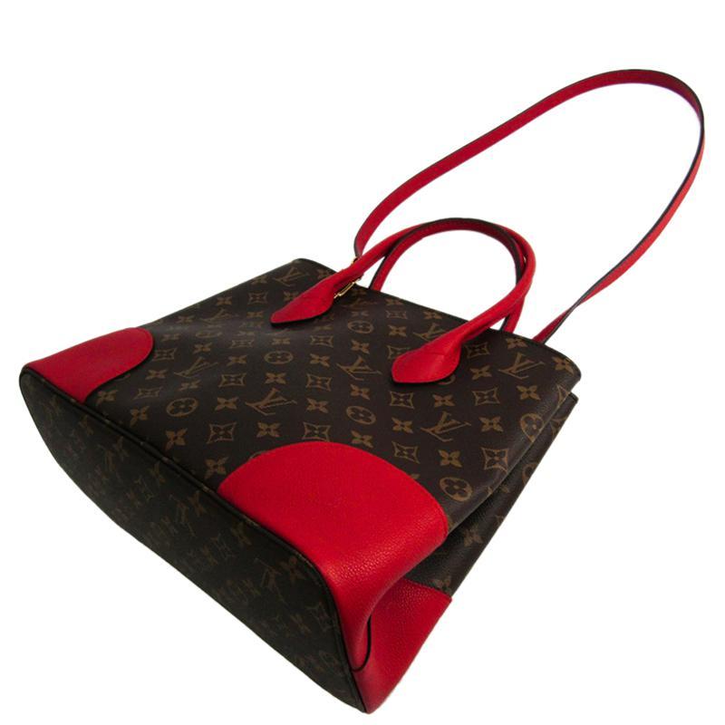 3ff27fc0da7 Louis Vuitton Cherry Monogram Canvas Flandrin Bag - Lyst