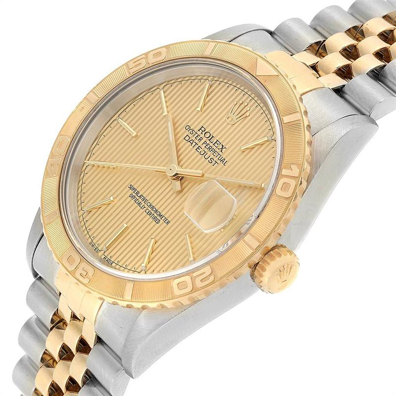 Rolex Gold 18k Yellow Gold And