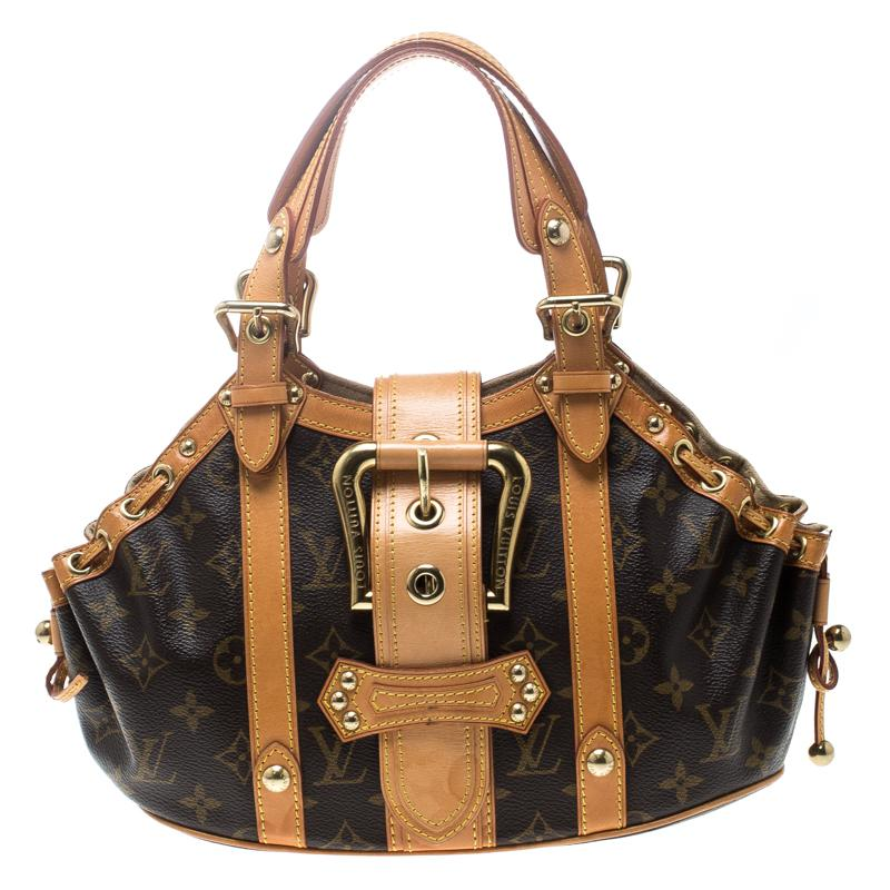 e45fbc3dc266 Louis Vuitton Monogram Canvas Theda Gm Bag in Brown - Save 1% - Lyst