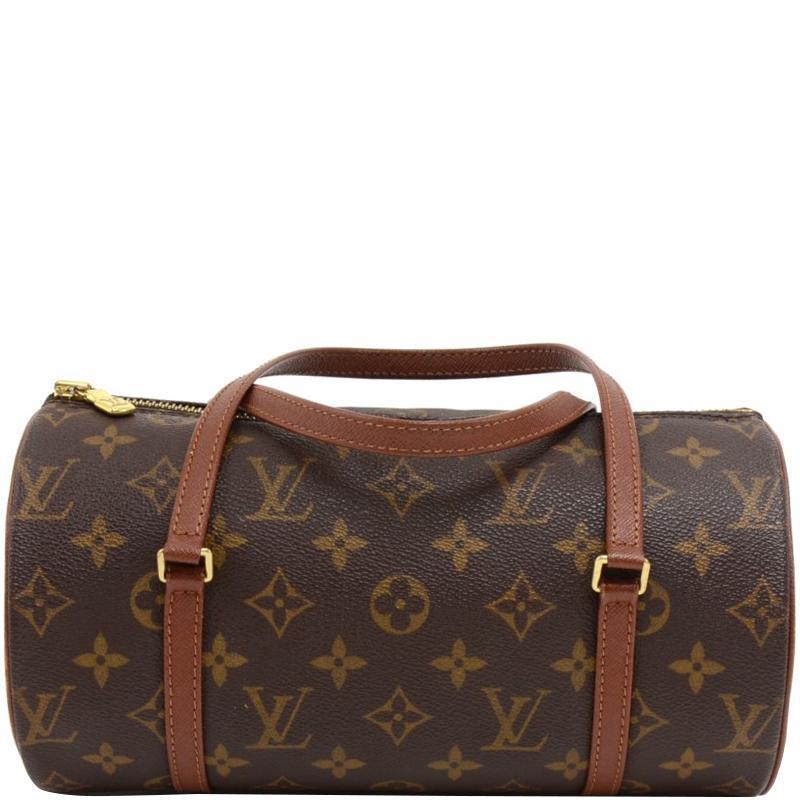 a1a4452109e8 Lyst - Louis Vuitton Monogram Canvas Papillon 26 Bag in Brown