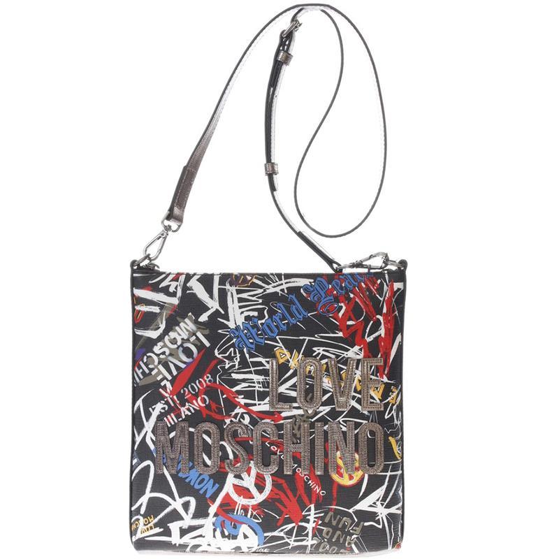 Moschino. Women s Love Faux Print Leather Crossbody Bag b25bc69b4c6f5