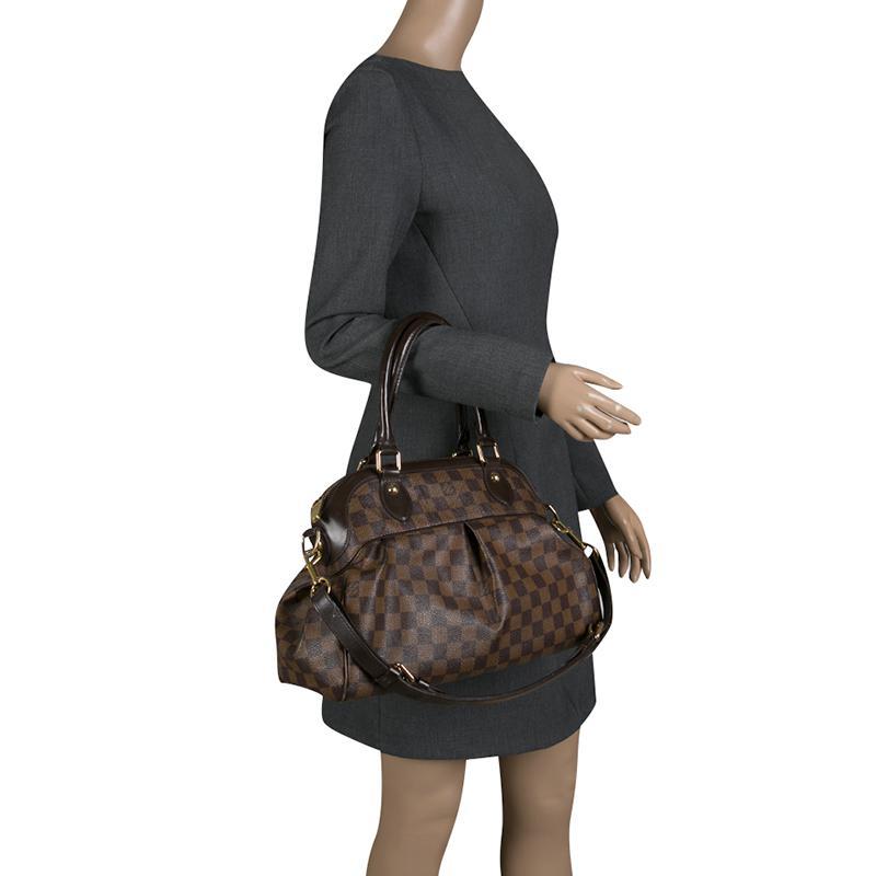 Louis Vuitton - Brown Damier Ebene Canvas Trevi Gm Bag - Lyst. View  fullscreen e7a2ee90b378b