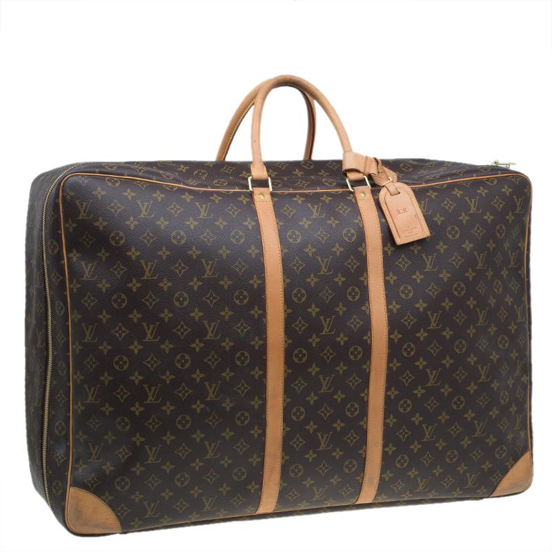 b8145f93dc43 Louis Vuitton - Brown Monogram Canvas Sirius 70 Soft Sided Suitcase for Men  - Lyst. View fullscreen