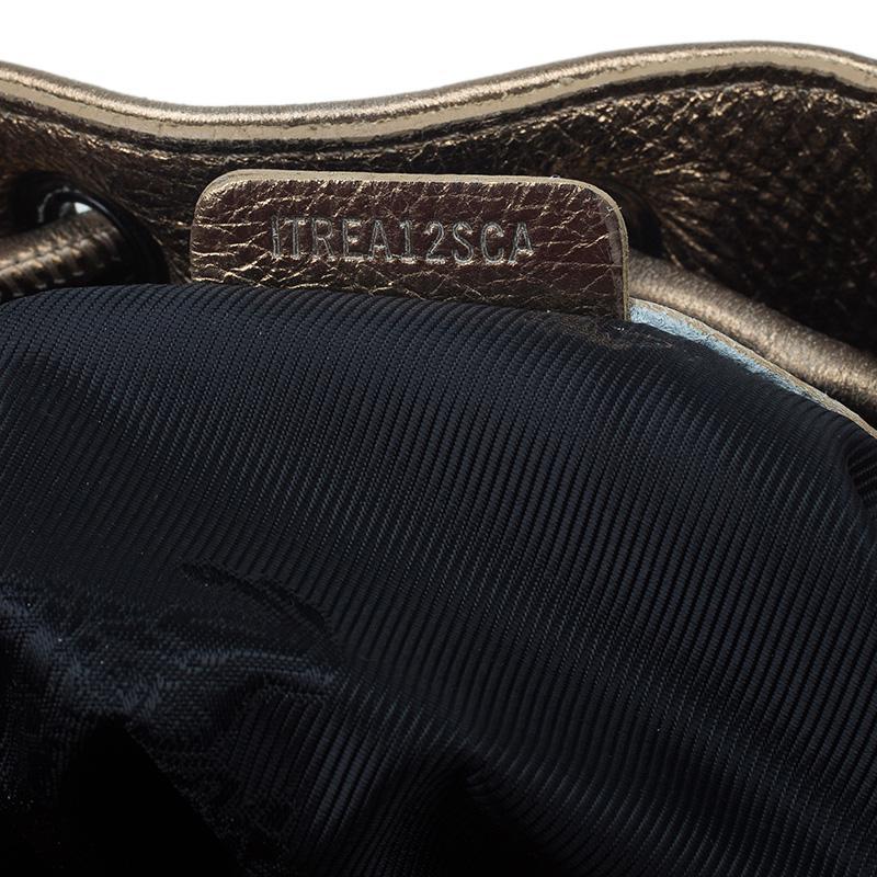 Burberry - Metallic Leather Studded Prorsum Warrior Hobo - Lyst. View  fullscreen 71fb8a2914733