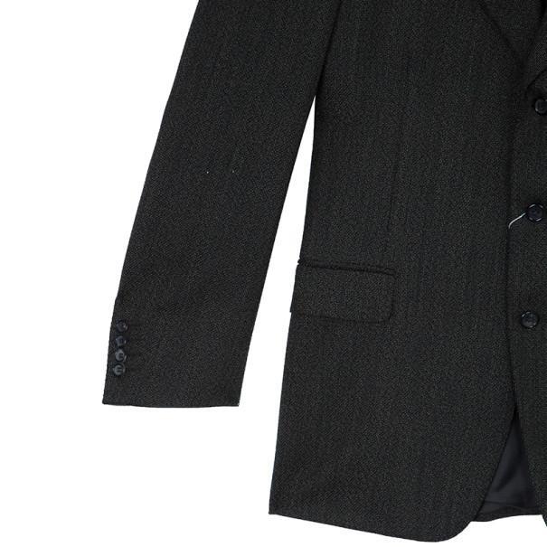 Celine Homme Brown Laine Wool Blazer Jacket Eu52 for Men