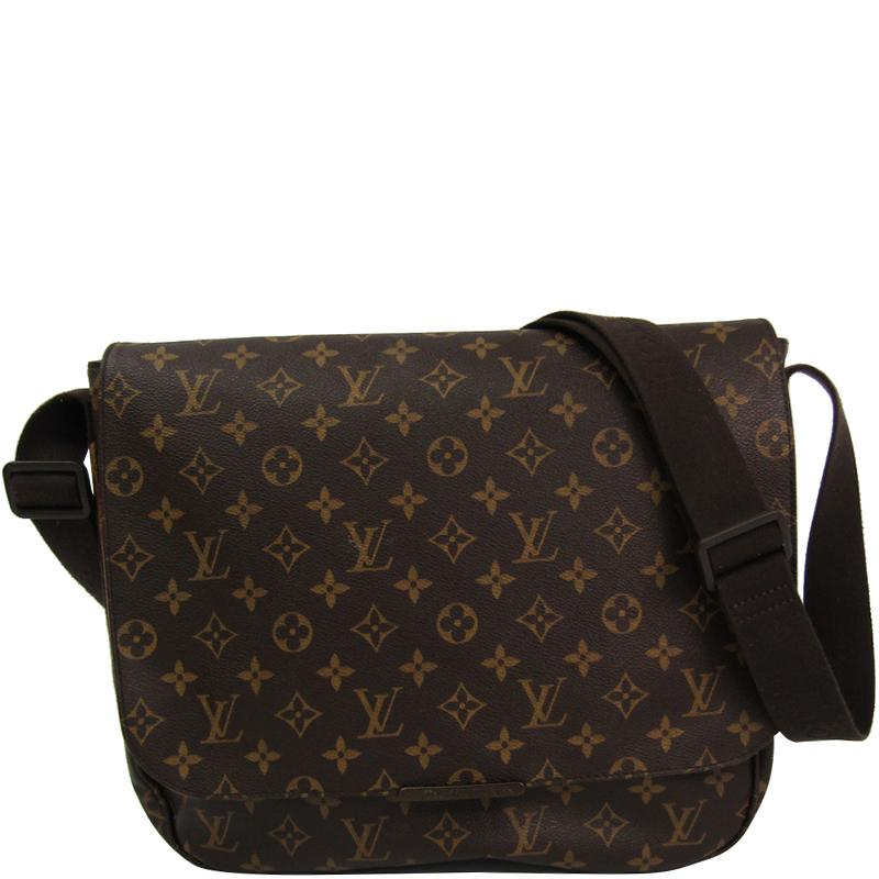 f9092779aa8 Lyst - Louis Vuitton Monogram Canvas Beaubourg Messenger Mm Bag in Brown