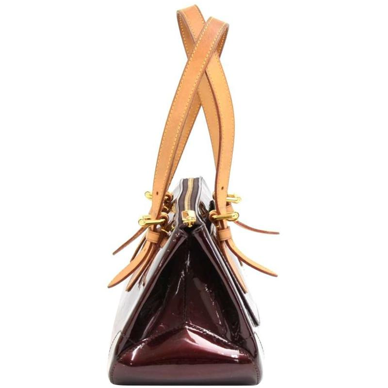 c146f89f620f Louis Vuitton - Multicolor Amarante Monogram Vernis Rosewood Avenue Bag -  Lyst. View fullscreen