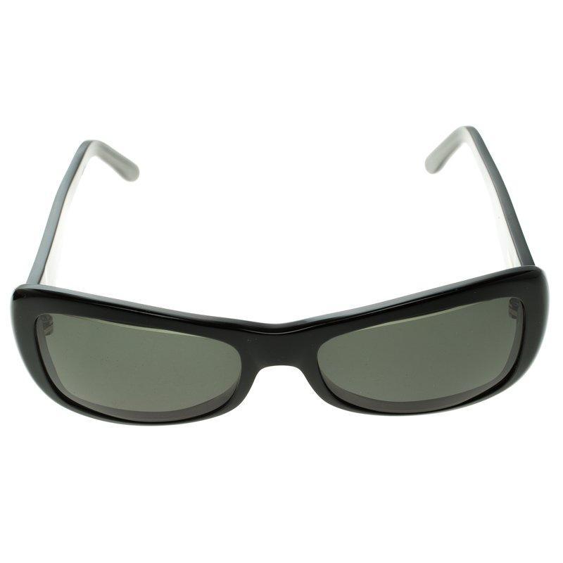 63c7bb0eb215 Cartier - Black 135 Rectangle Sunglasses - Lyst. View fullscreen
