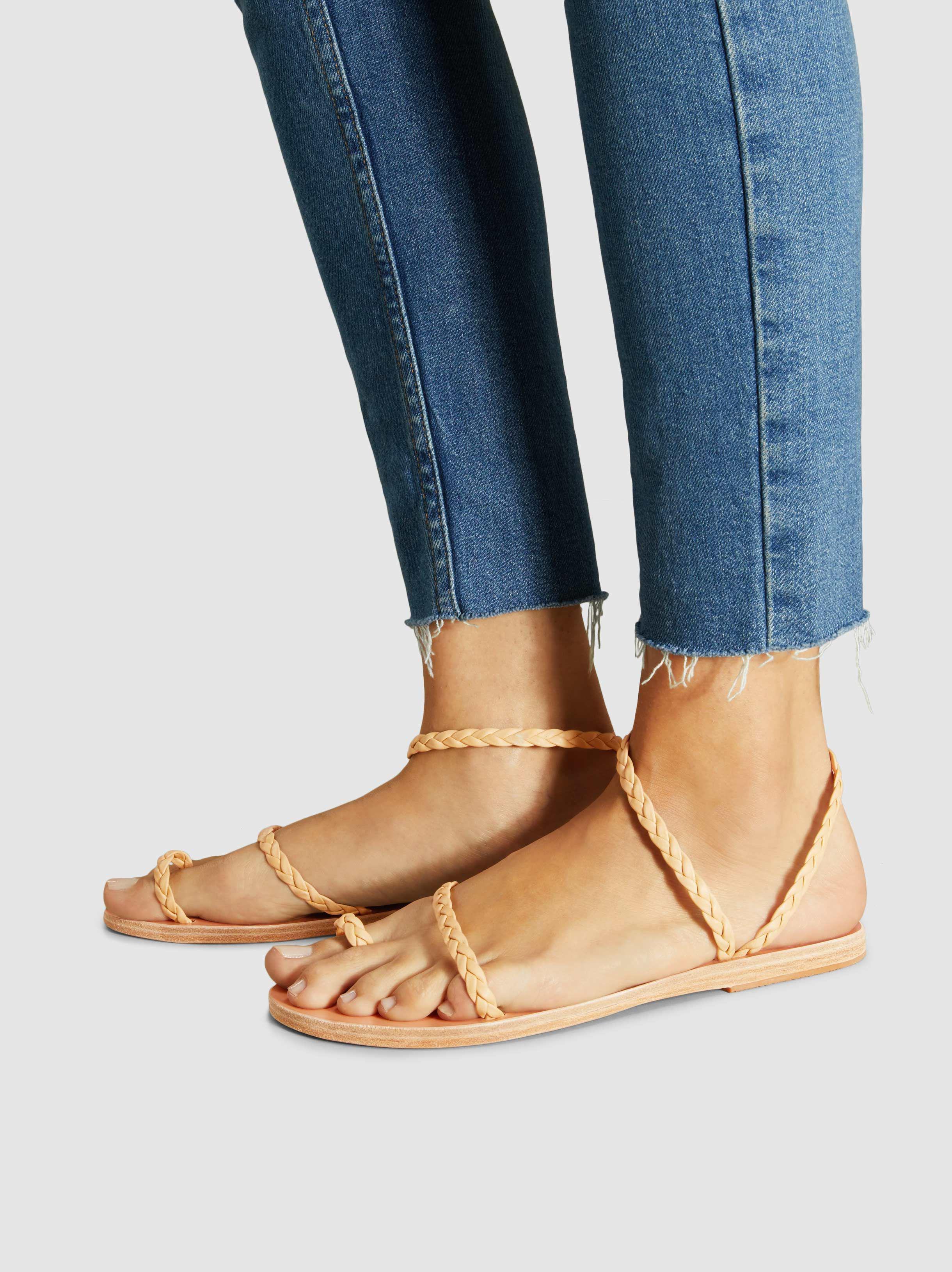 7e451057a2a009 Ancient Greek Sandals - Multicolor Eleftheria Nappa Leather Sandals - Lyst.  View fullscreen