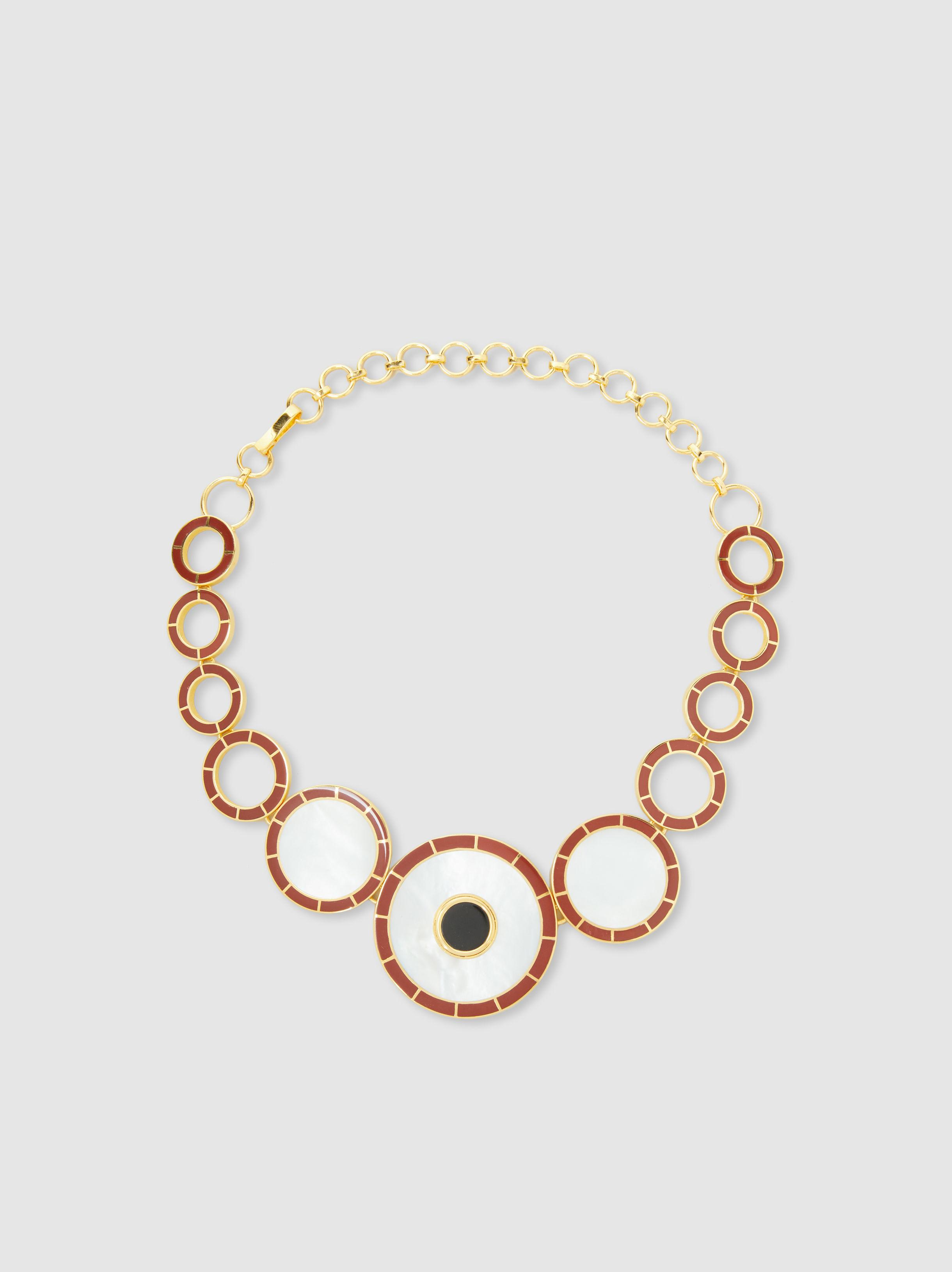 Monica Sordo Brujo Orbit Necklace yBGs2Hn