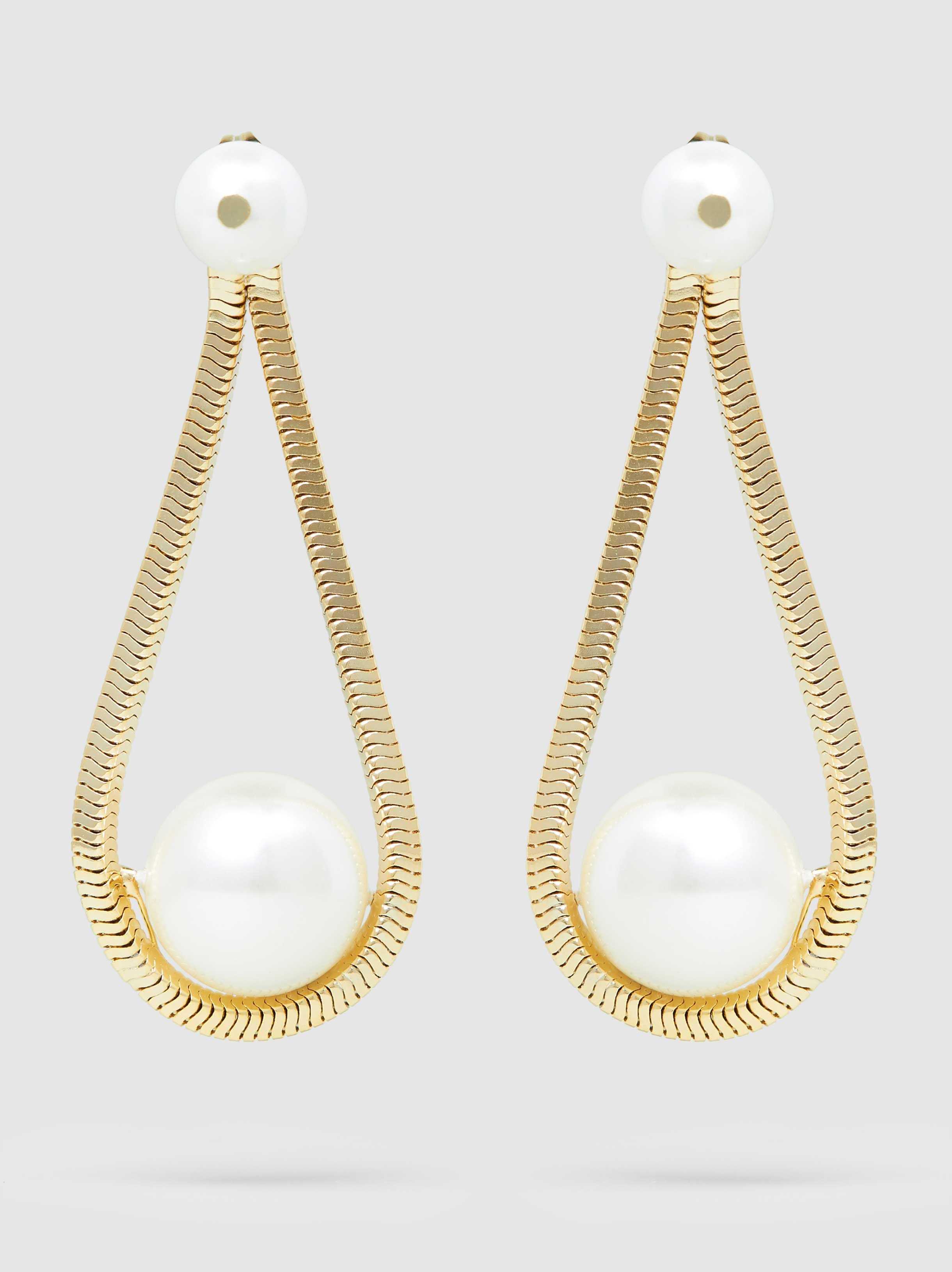 Schiava Freshwater Pearl Gold-Tone Ear Cuff Rosantica kjbS7YznLl