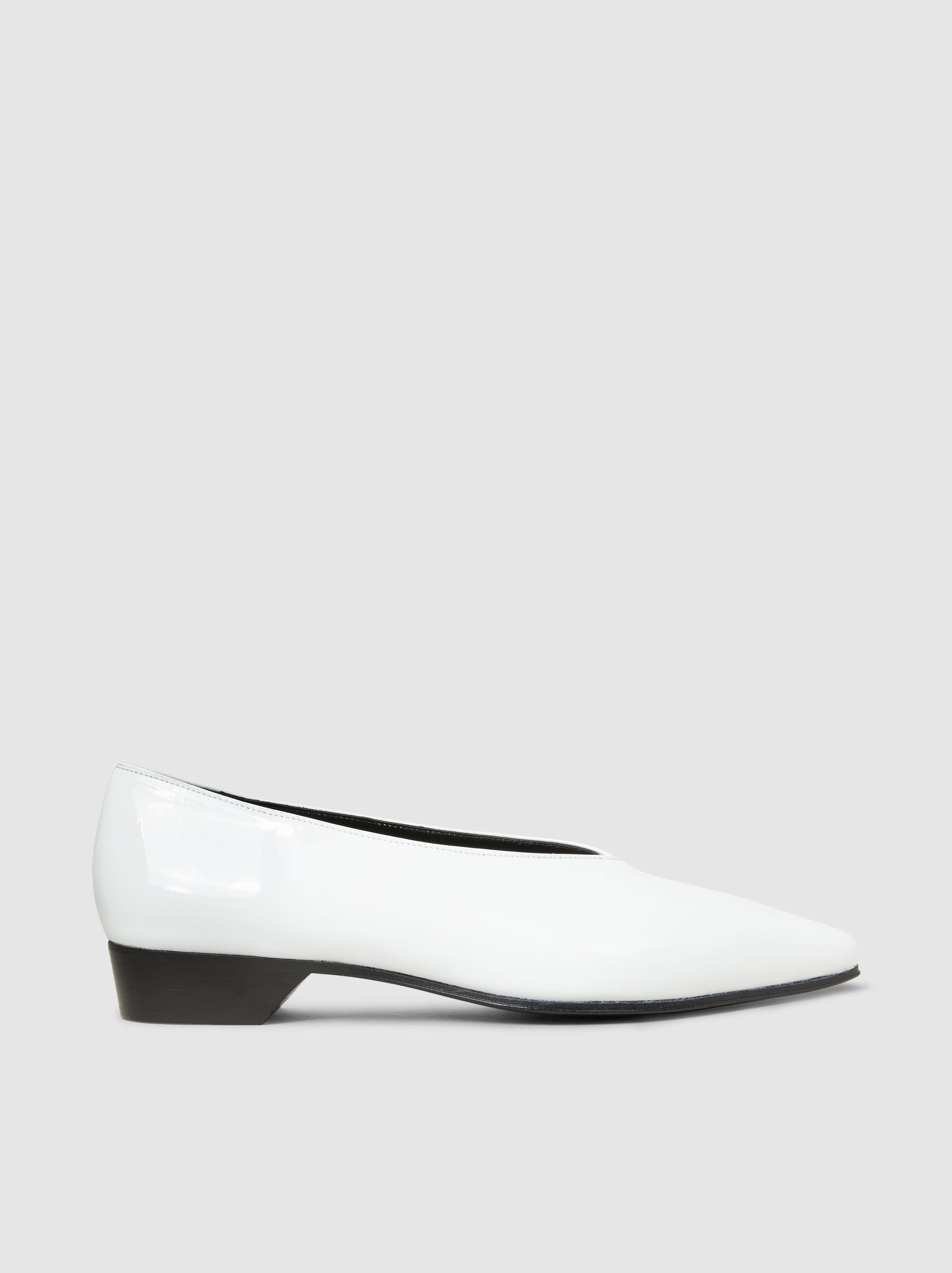 Patent-Leather Point-Toe Flats Alumnae Cheap Outlet Locations Cheap Enjoy fDqM1n7J