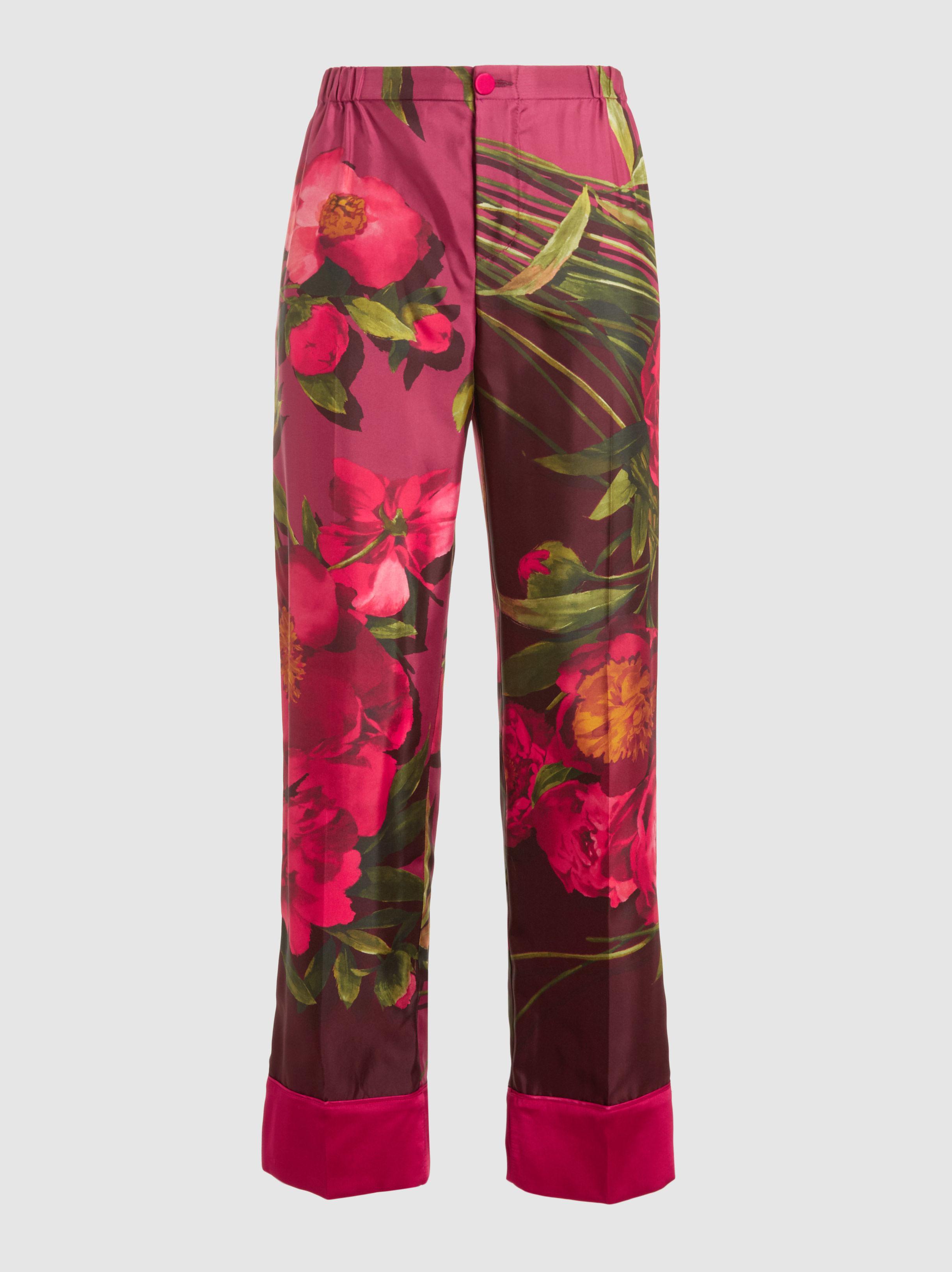 Etere V Pantalons Floraux Frs Pour Traverses Sans Repos Wj9Ne