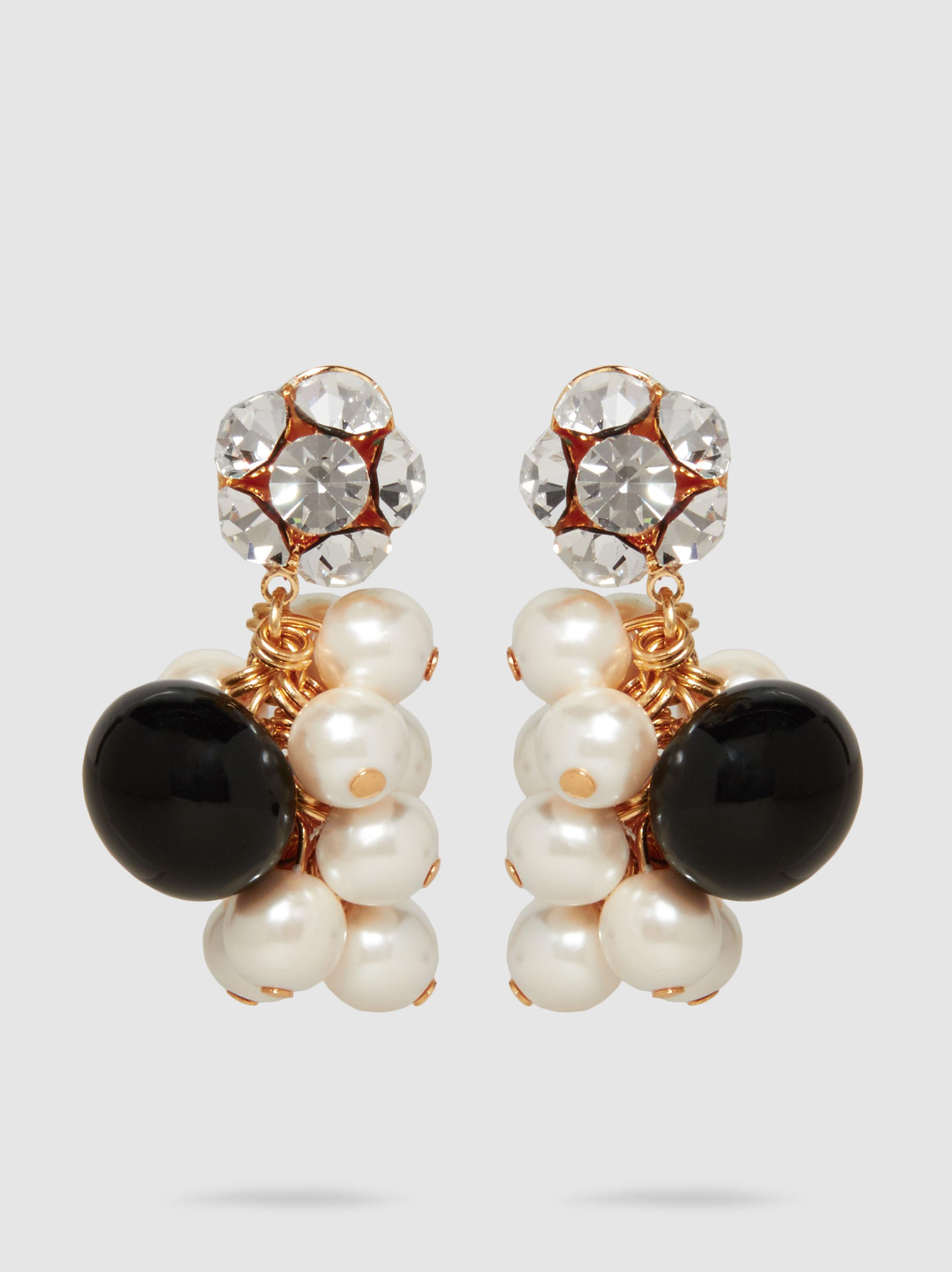 Rachel Comey Mira Crystal And Pearl Earrings zwX4v2Qj